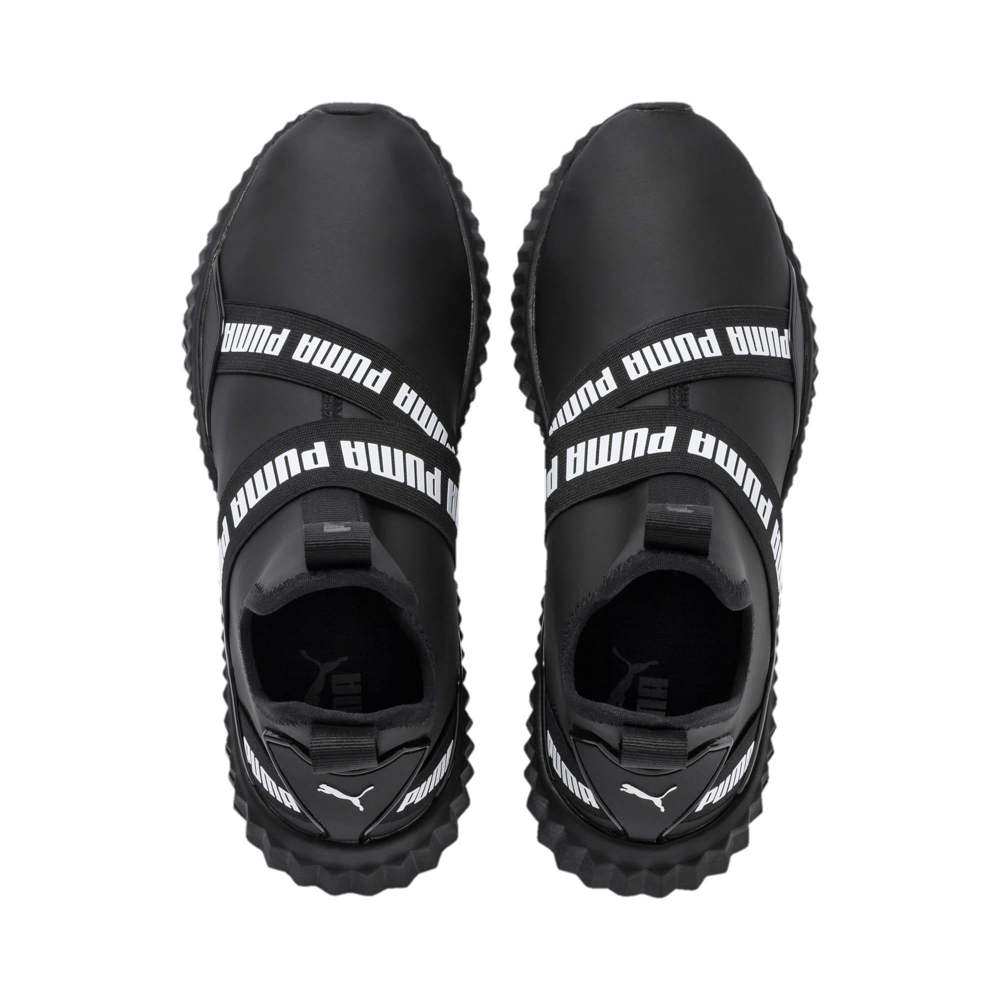 Imagen en miniatura 7 de Zapatillas de mujer Defy Mid Matte, Puma Black-Puma White, mediana