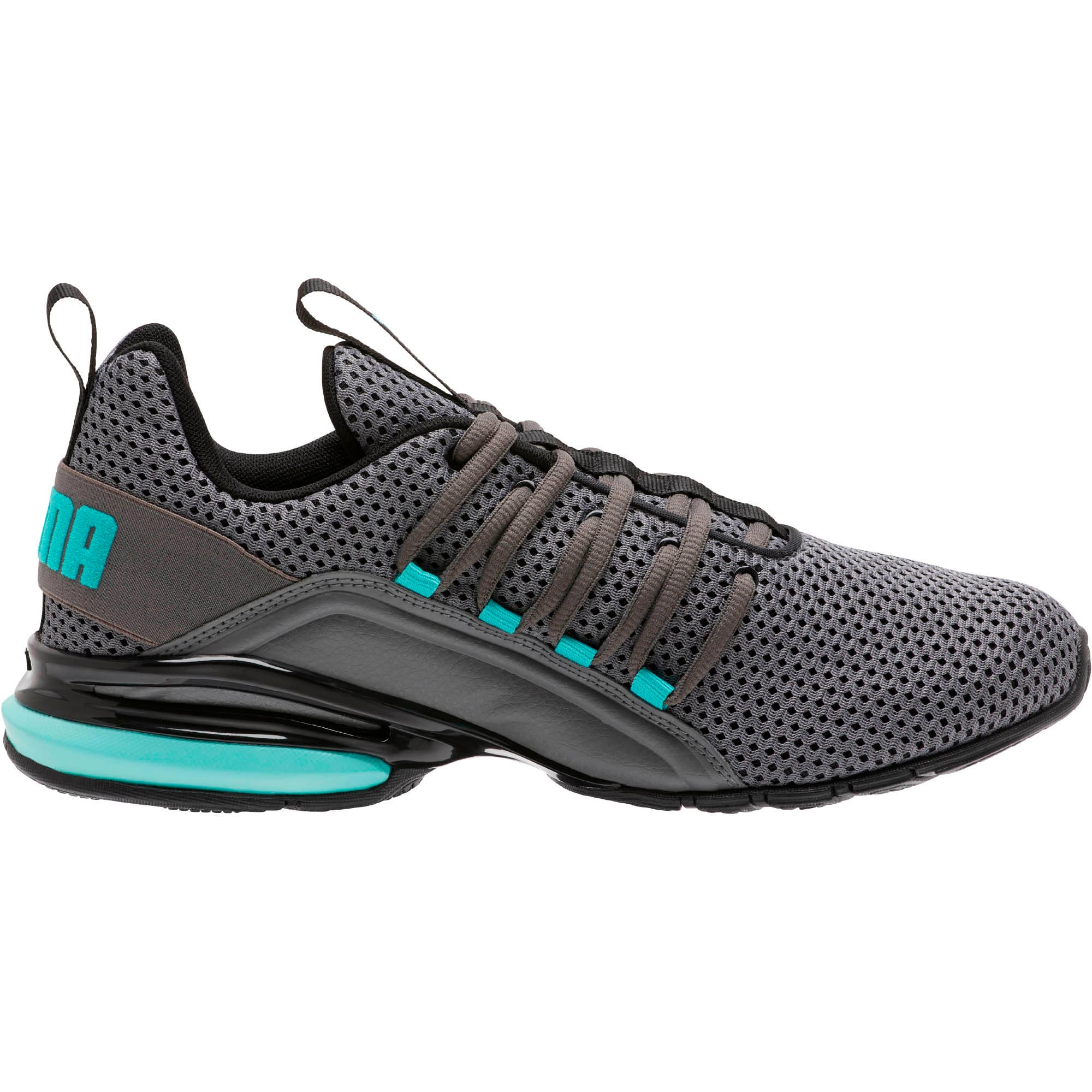 Thumbnail 4 of Axelion Breathe Men's Training Shoes, P Black-CASTLEROCK-Blue Turq, medium