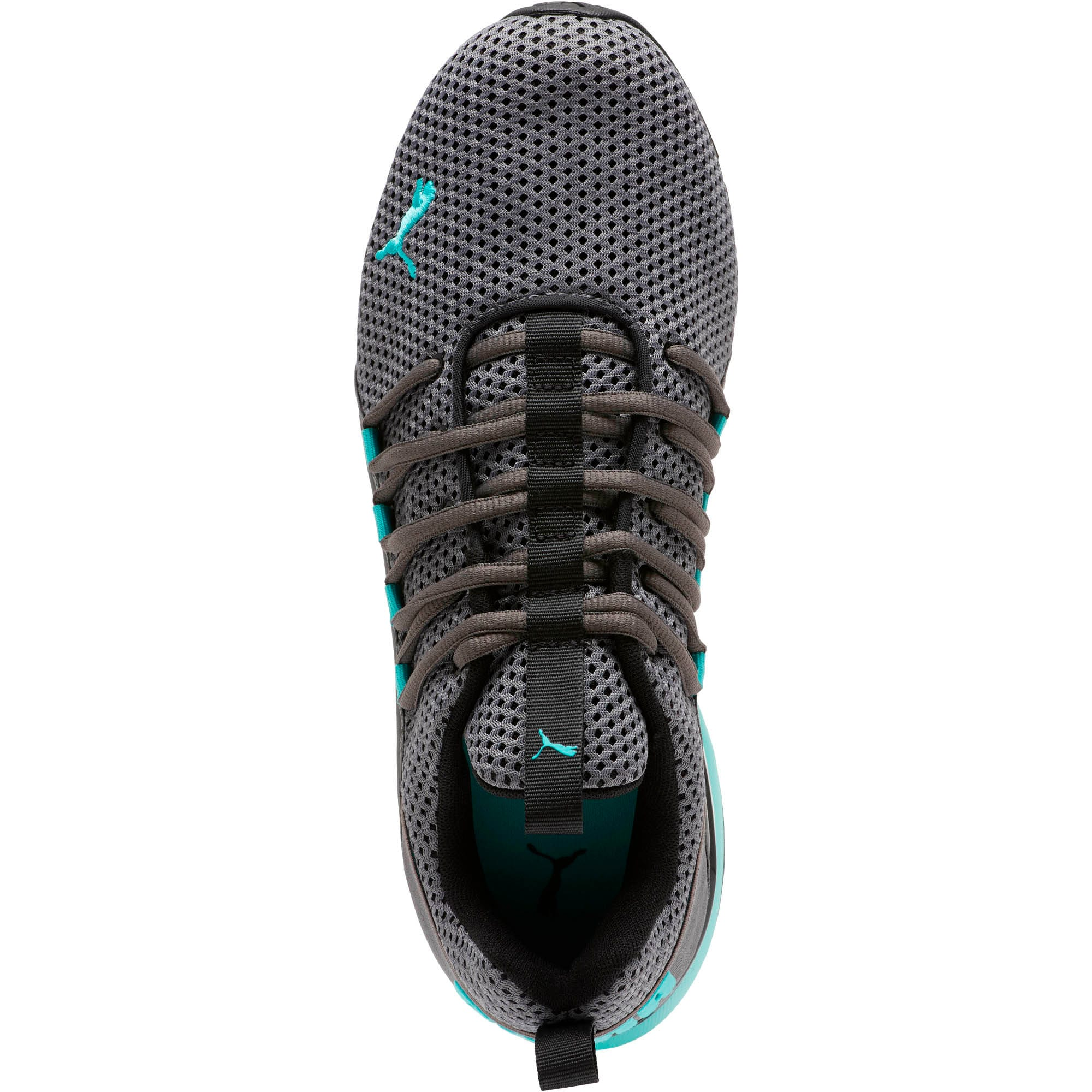 Thumbnail 5 of Axelion Breathe Men's Training Shoes, P Black-CASTLEROCK-Blue Turq, medium