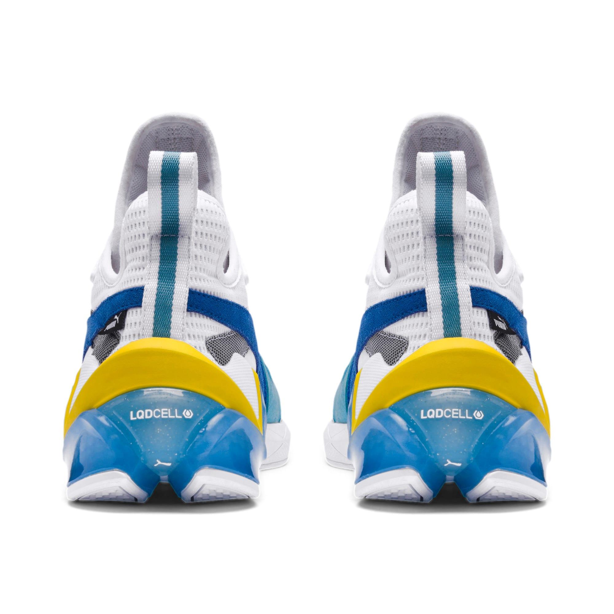 Thumbnail 3 of LQDCELL Origin Herren Sneaker, Puma White-B Blue-Blz Yellow, medium