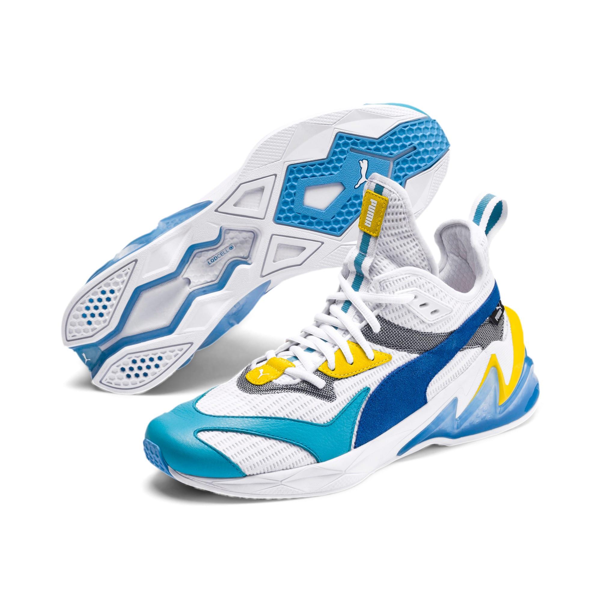 Thumbnail 2 of LQDCELL Origin Herren Sneaker, Puma White-B Blue-Blz Yellow, medium