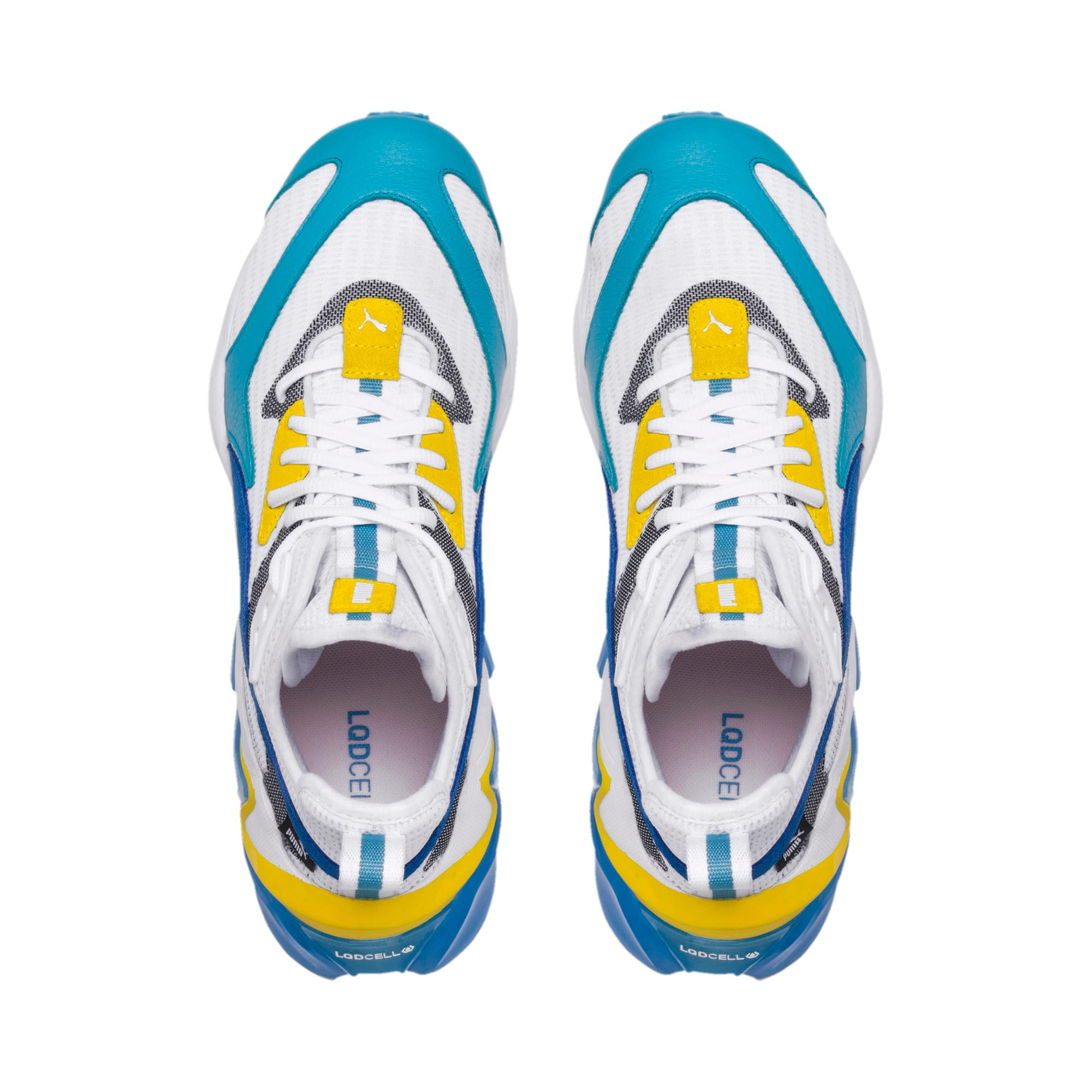 Thumbnail 6 of LQDCELL Origin Men's Training Shoes, Puma White-B Blue-Blz Yellow, medium