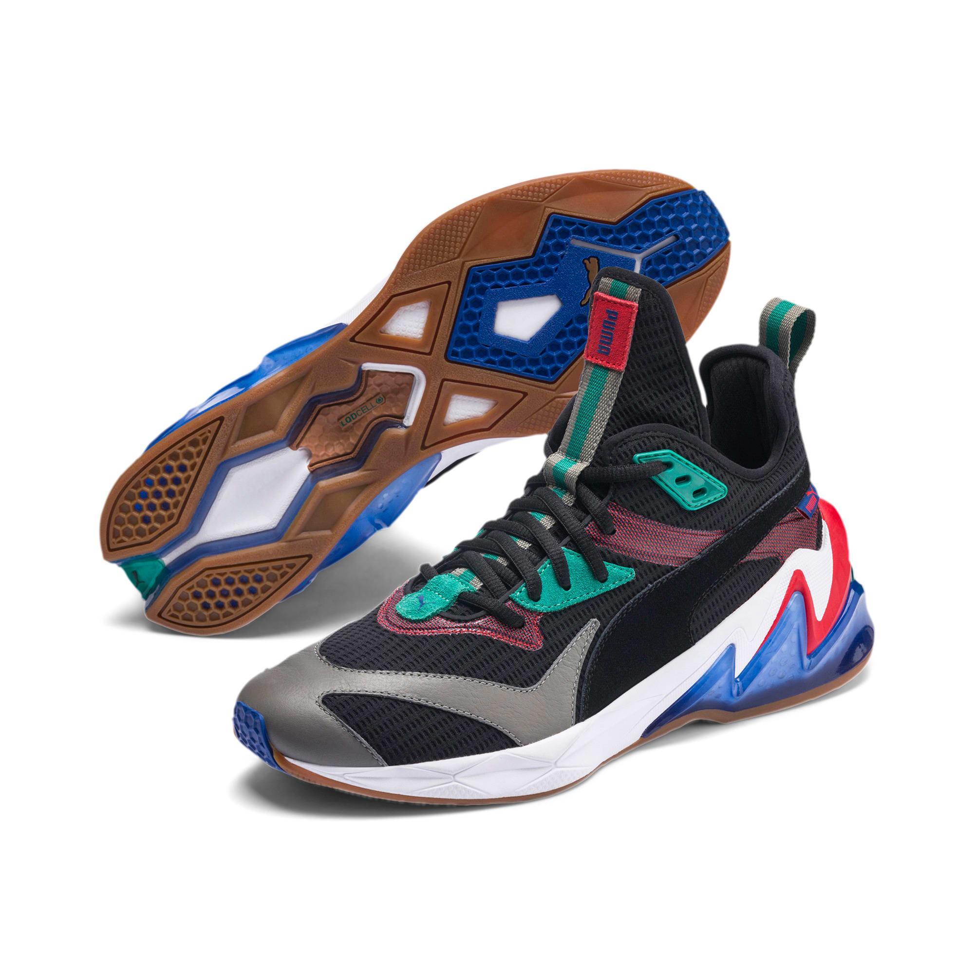 Thumbnail 2 of LQDCELL Origin Herren Sneaker, Puma Black-Cadmium Green, medium