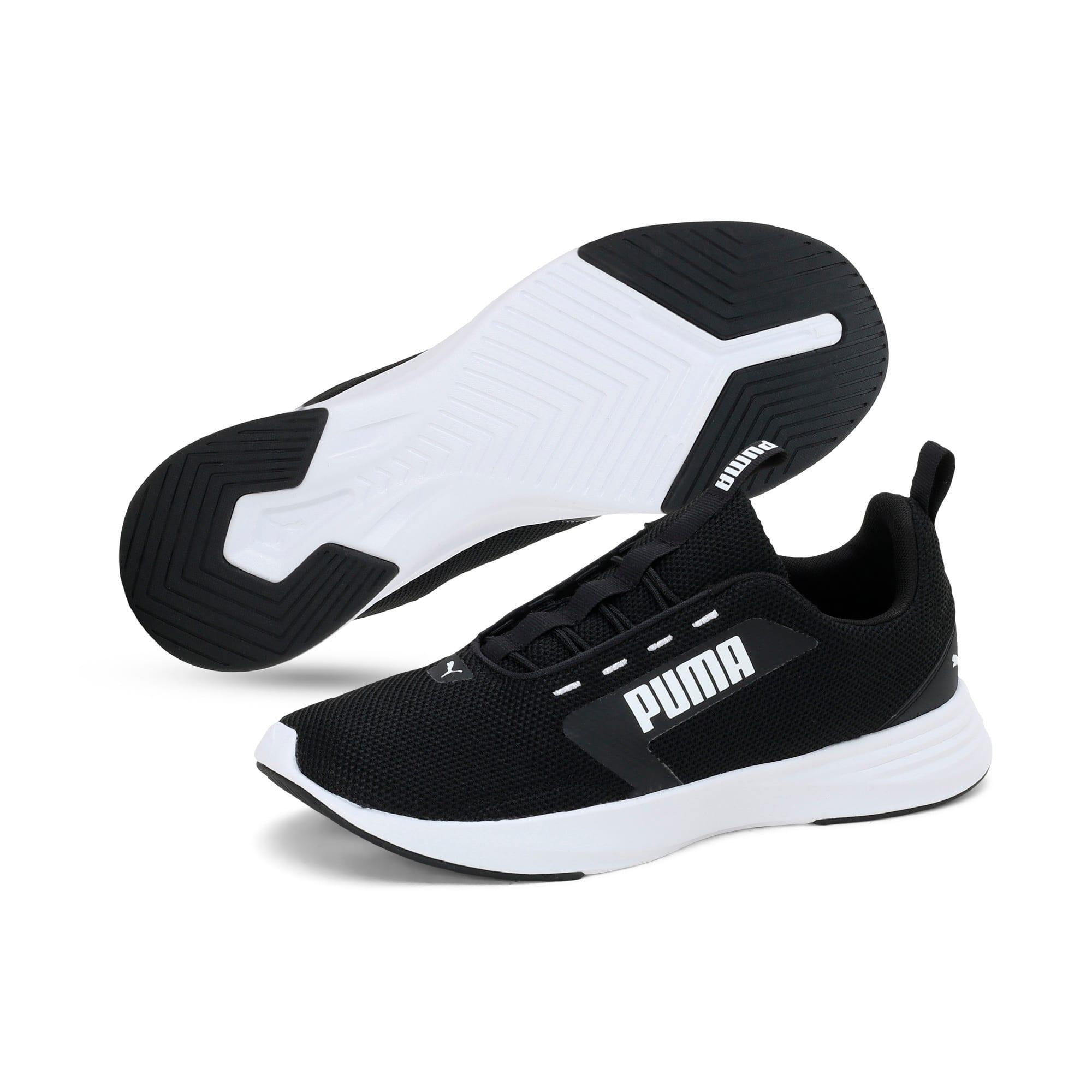 Thumbnail 2 of Extractor Running Shoes, Puma Black-Puma White, medium-IND