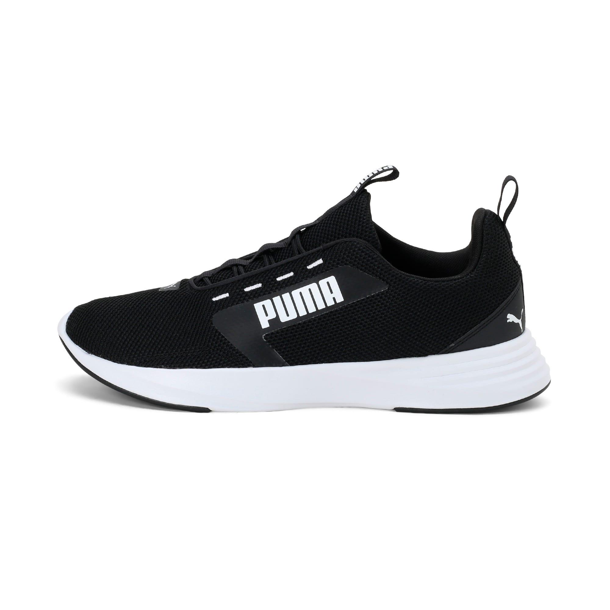 Thumbnail 1 of Extractor Running Shoes, Puma Black-Puma White, medium-IND