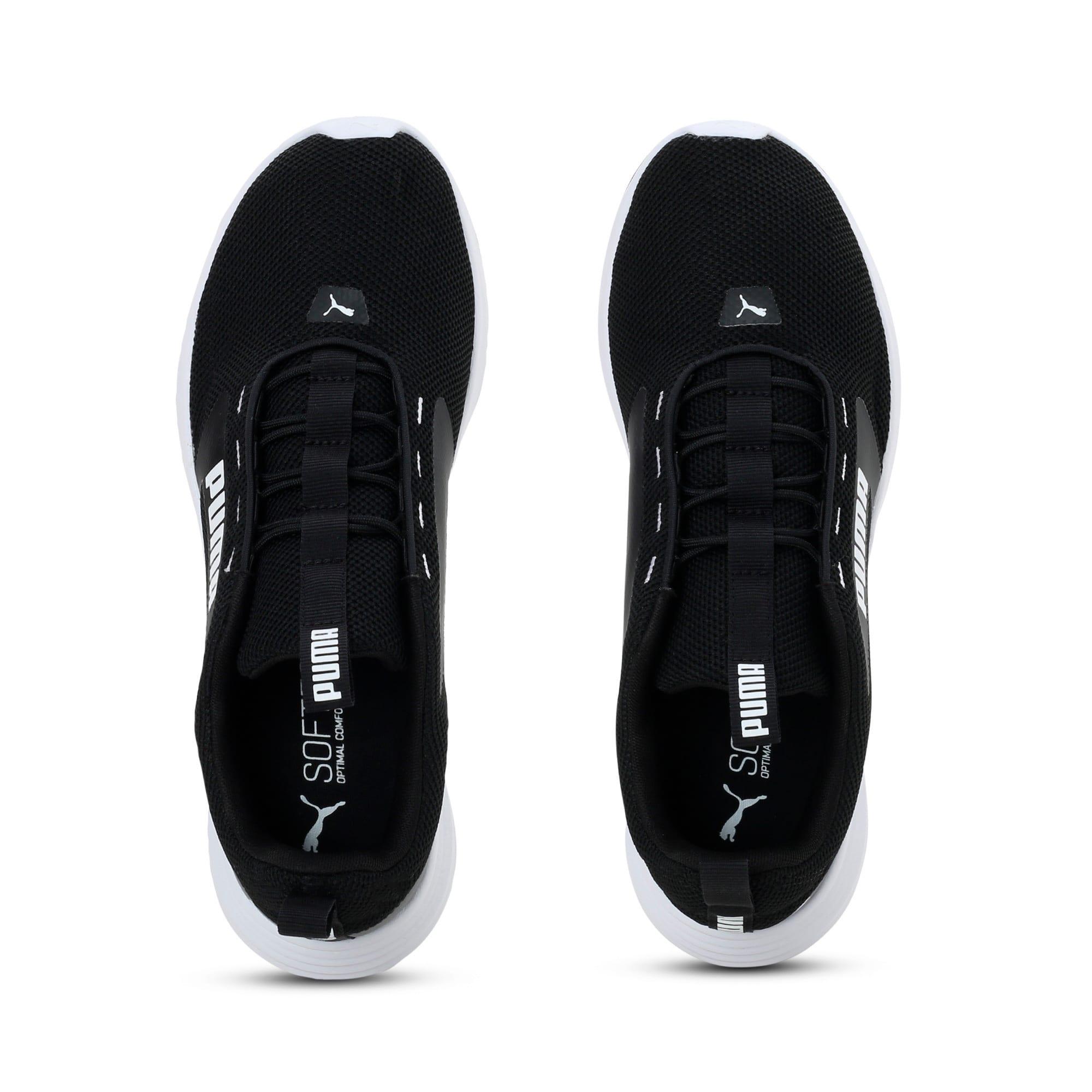 Thumbnail 4 of Extractor Running Shoes, Puma Black-Puma White, medium-IND