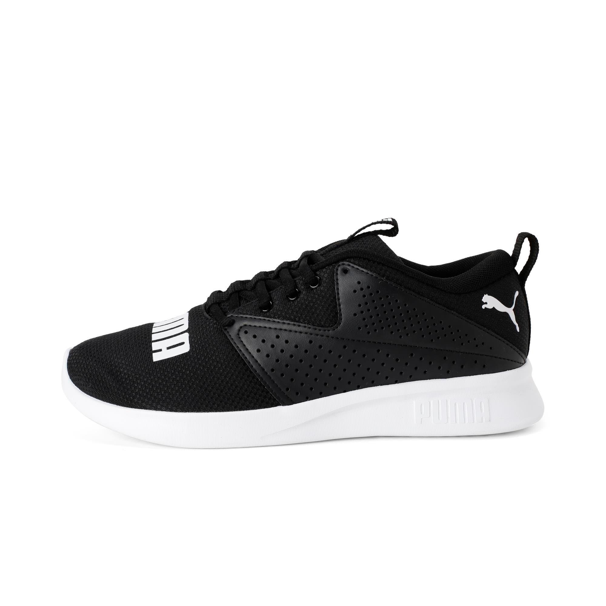 Thumbnail 1 of Detector Men's Running Shoe, Puma Black-Puma White, medium-IND