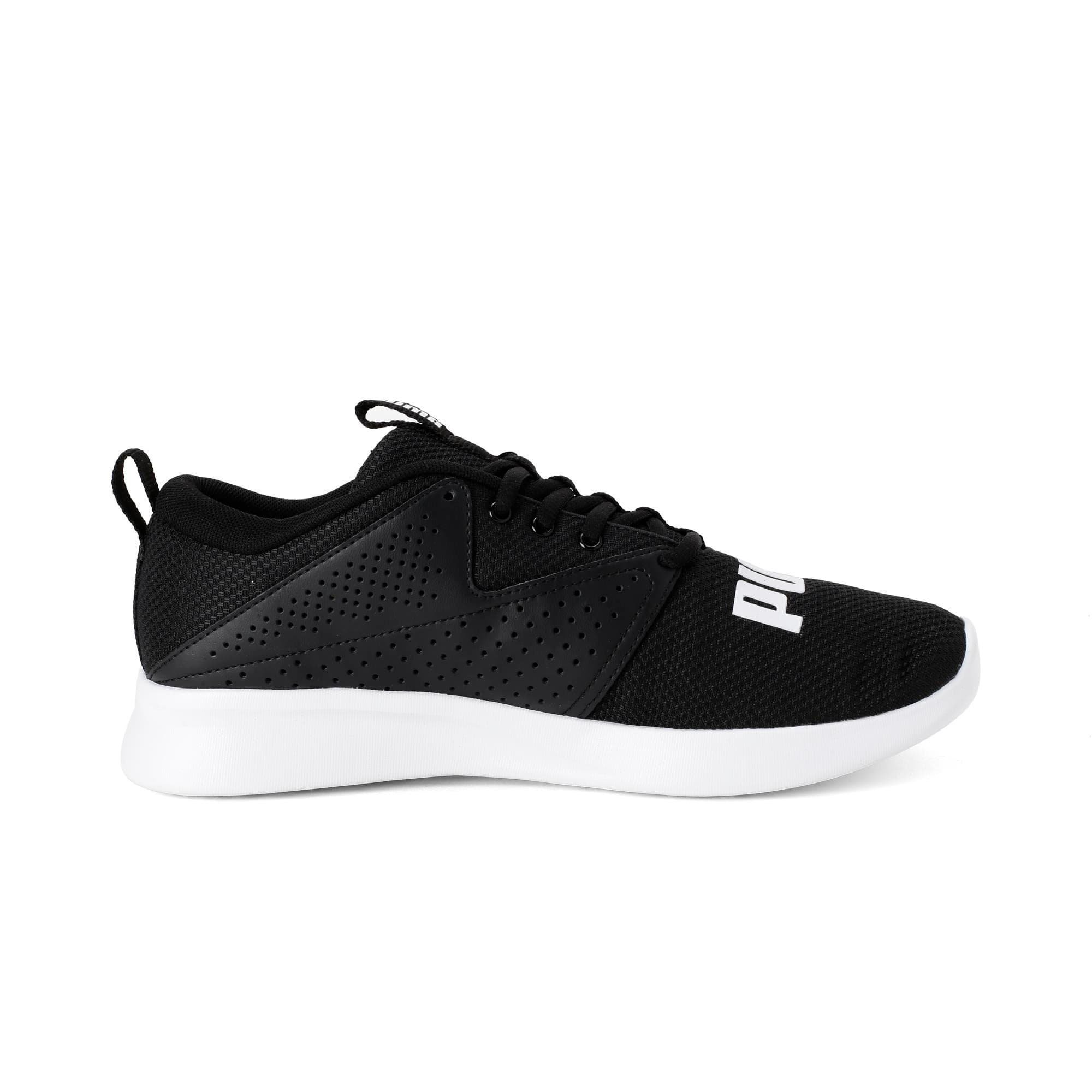 Thumbnail 5 of Detector Men's Running Shoe, Puma Black-Puma White, medium-IND