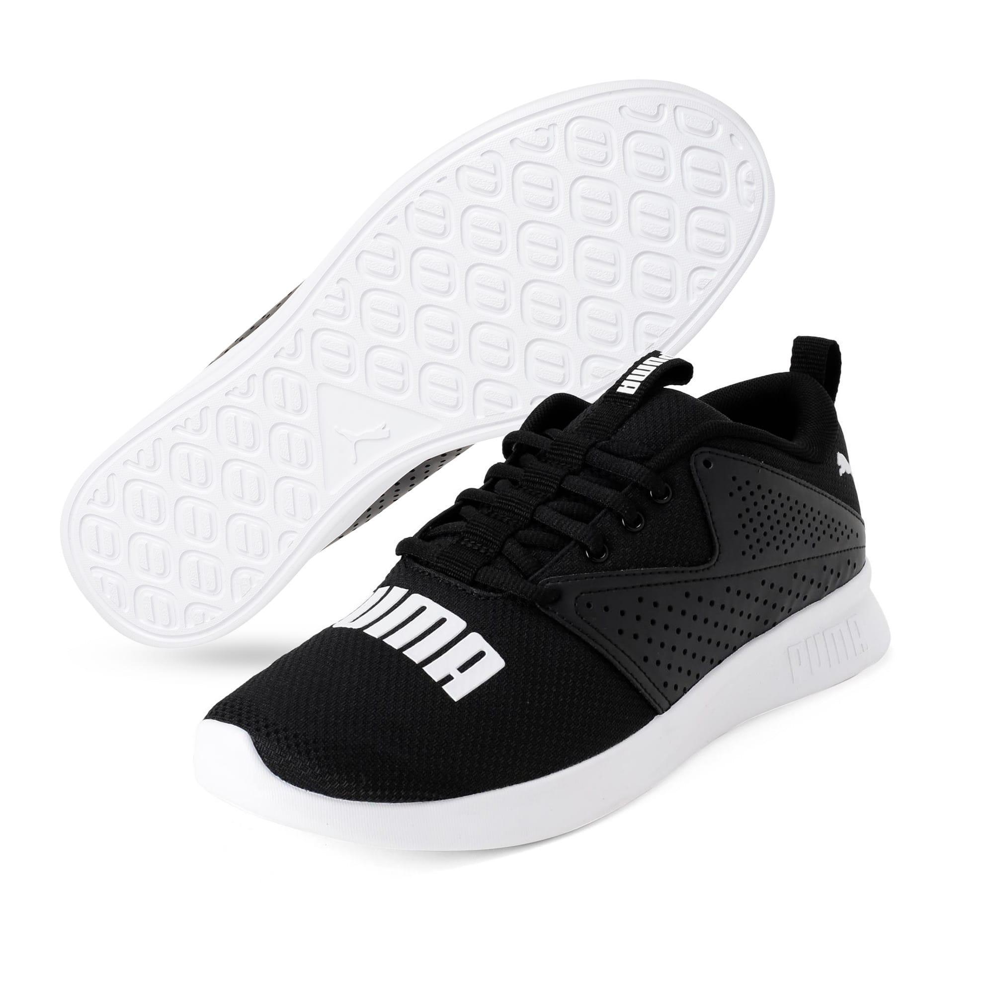 Thumbnail 6 of Detector Men's Running Shoe, Puma Black-Puma White, medium-IND
