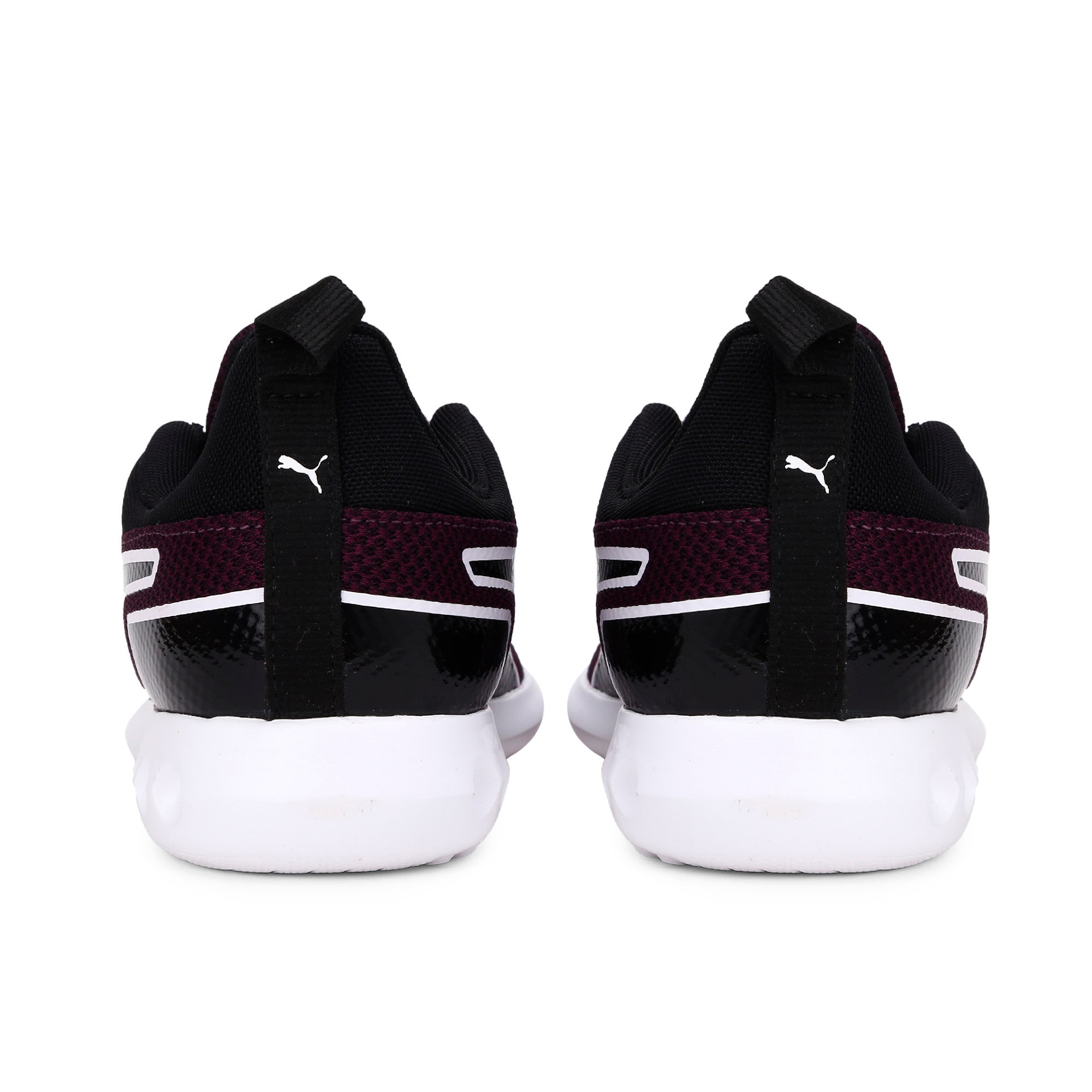 Thumbnail 3 of Concave Pro Wn s IDP Silver Gray-Puma Wh, Plum Purple-Puma Black-White, medium-IND
