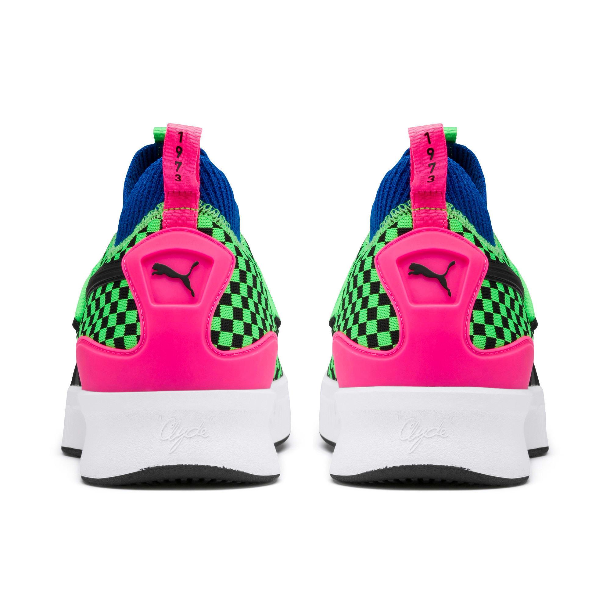 Thumbnail 3 of Clyde Court Summertime Basketball Shoes, 802 C Fluro Green PES, medium