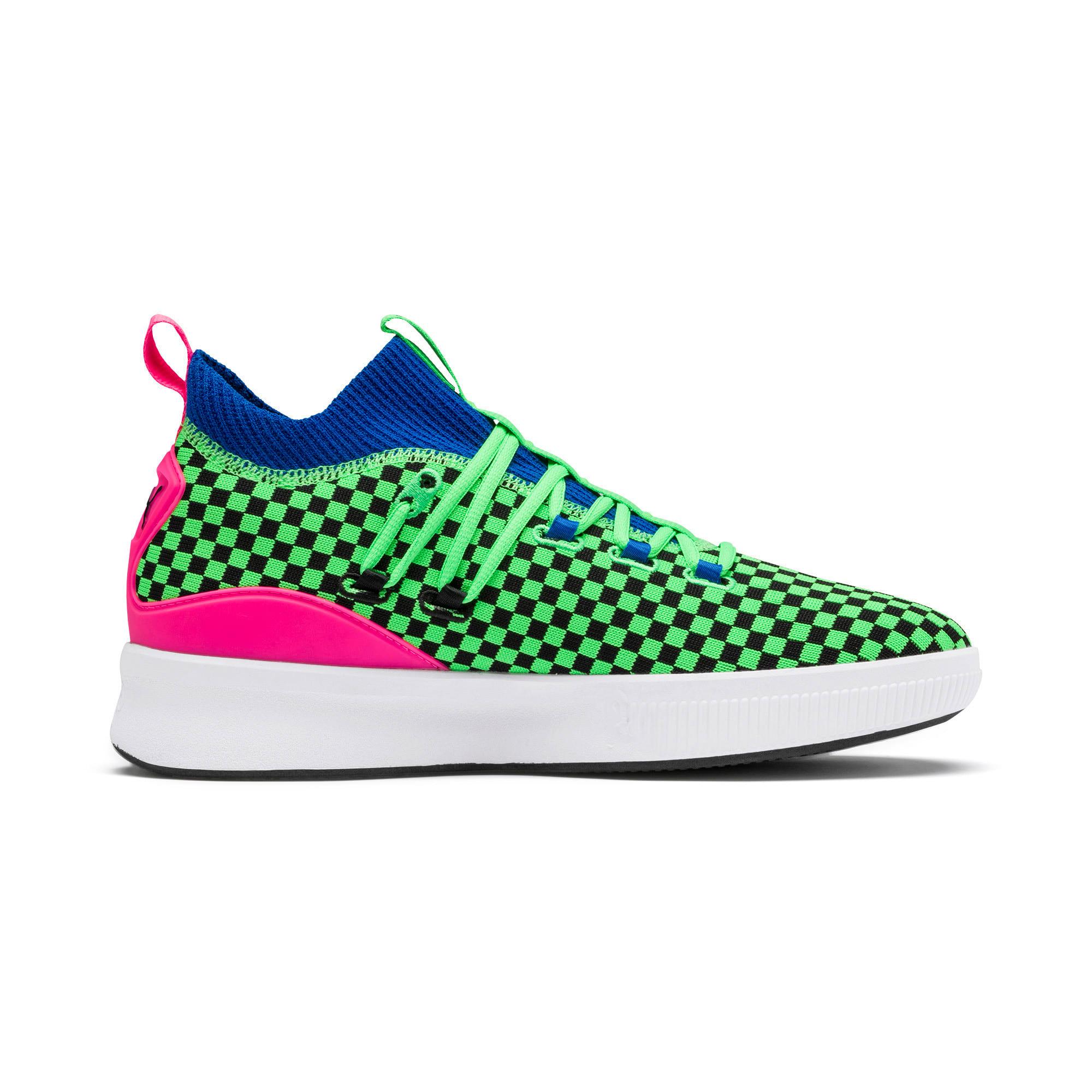 Thumbnail 5 of Clyde Court Summertime Basketball Shoes, 802 C Fluro Green PES, medium