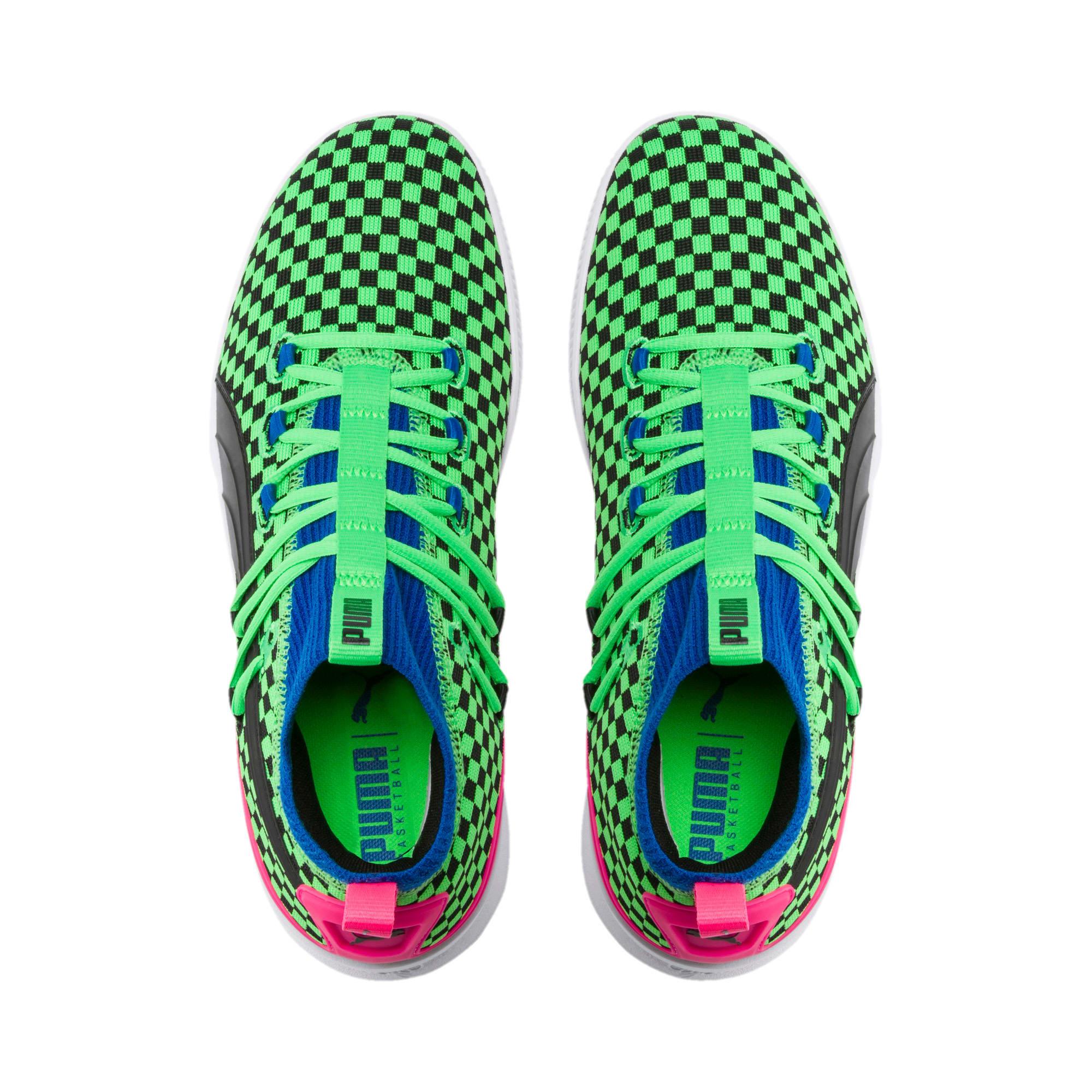 Thumbnail 6 of Clyde Court Summertime Basketball Shoes, 802 C Fluro Green PES, medium