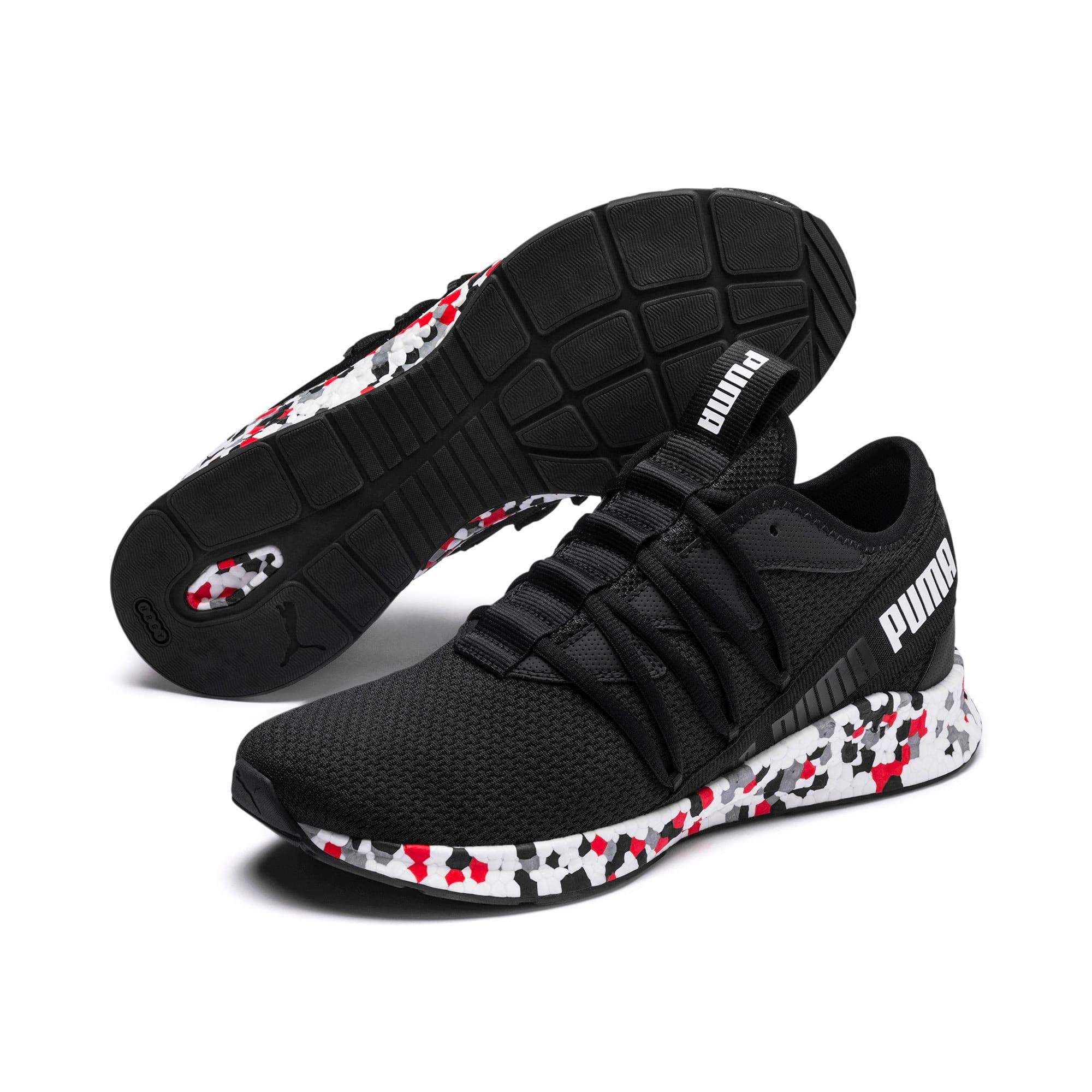 Thumbnail 2 of NRGY Star Multi Running Shoes, Black-White-Red, medium