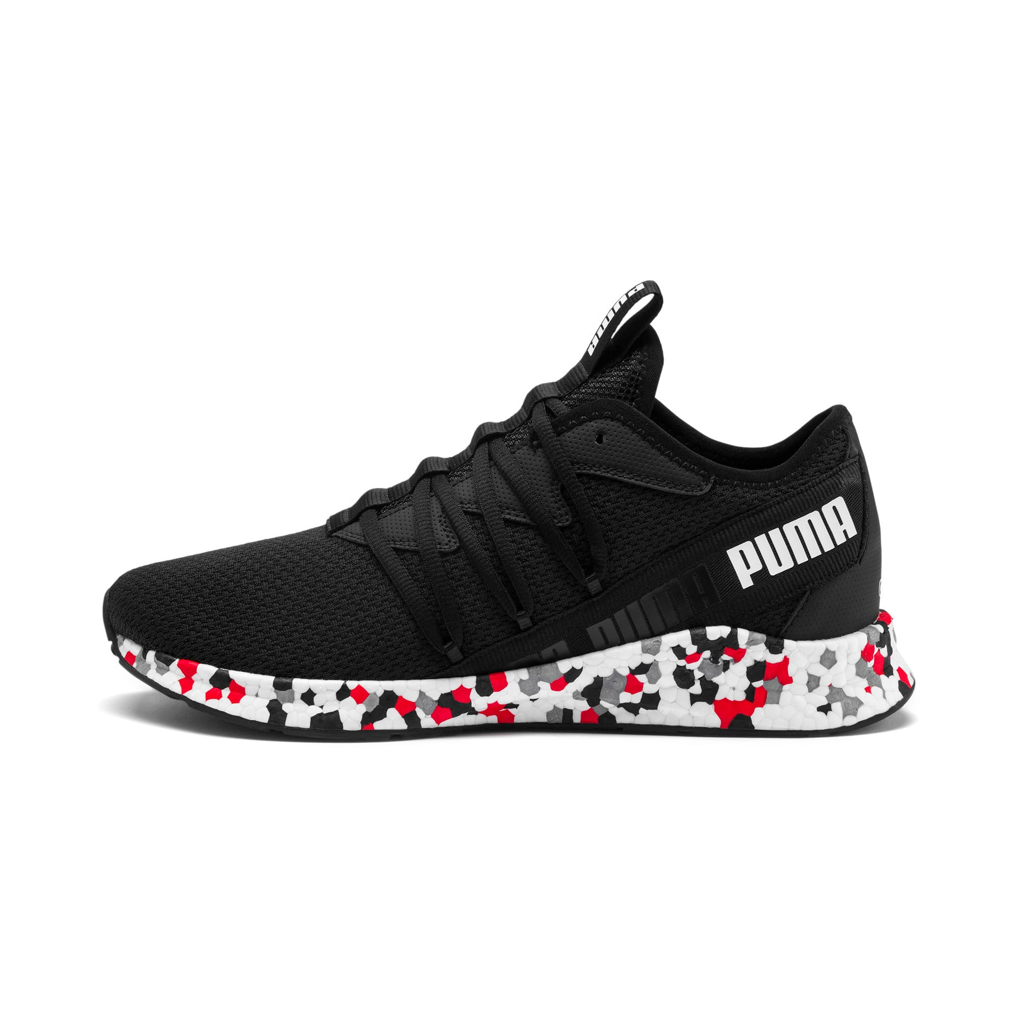Thumbnail 1 of NRGY Star Multi Running Shoes, Black-White-Red, medium