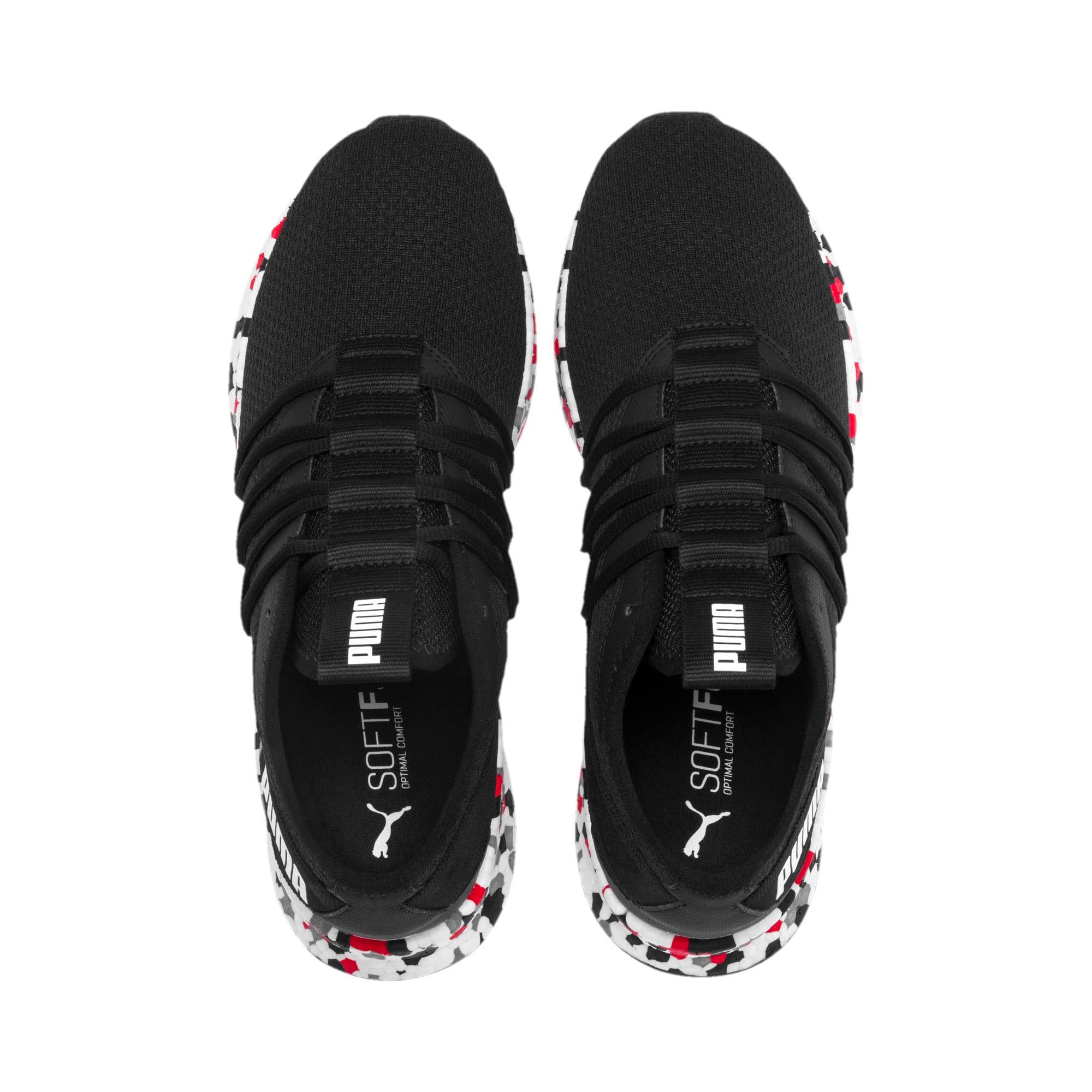 Thumbnail 7 of NRGY Star Multi Running Shoes, Black-White-Red, medium