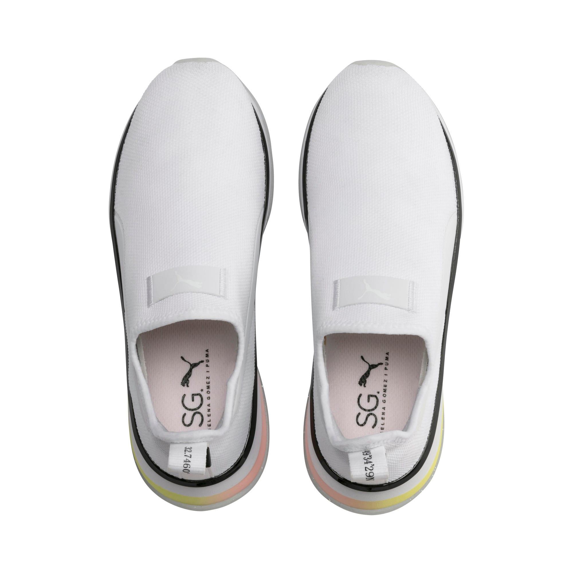 Thumbnail 7 of PUMA x SELENA GOMEZ Slip-On Women's Training Shoes, Puma White-Puma Black, medium