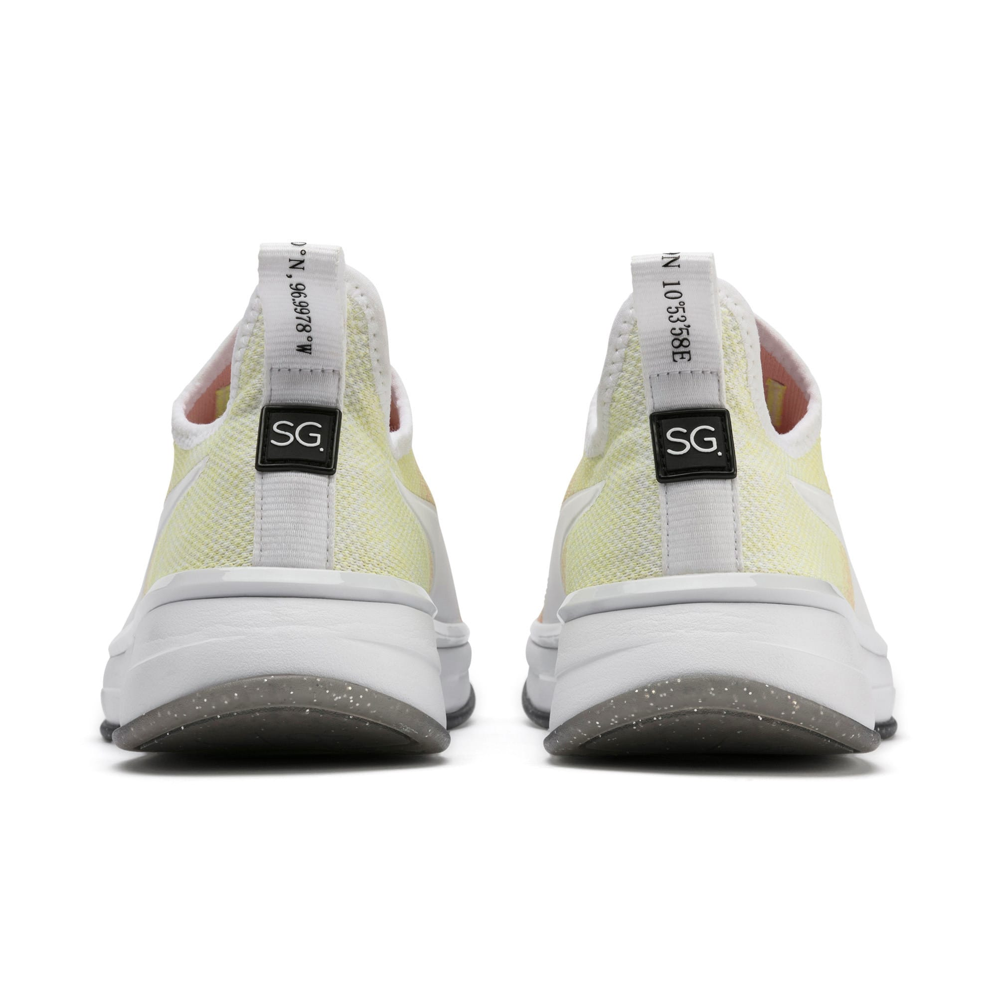 Thumbnail 4 of SG Slip-On Sunrise Women's Training Shoes, YELLOW-Peach Bud-White, medium