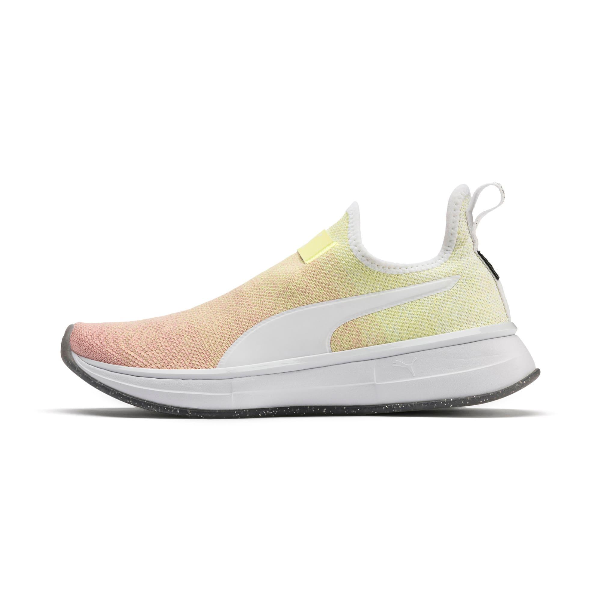Thumbnail 1 of SG Slip-On Sunrise Women's Training Shoes, YELLOW-Peach Bud-White, medium