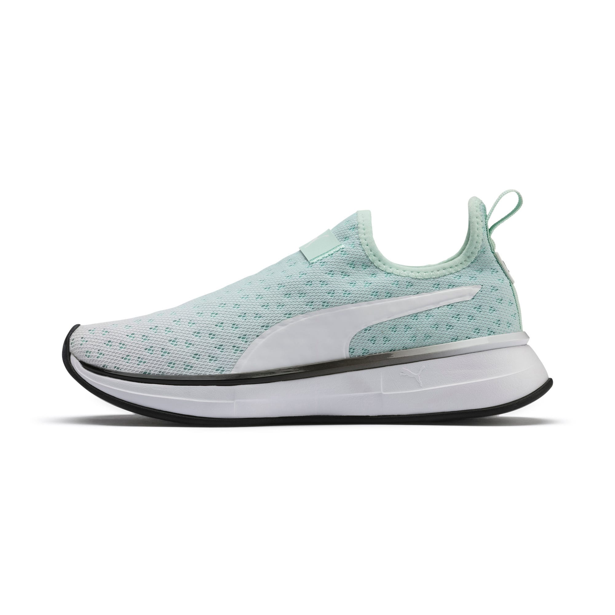 Thumbnail 1 of SG Slip-on Bright Fade Women's Training Shoes, Fair Aqua-Puma Black, medium