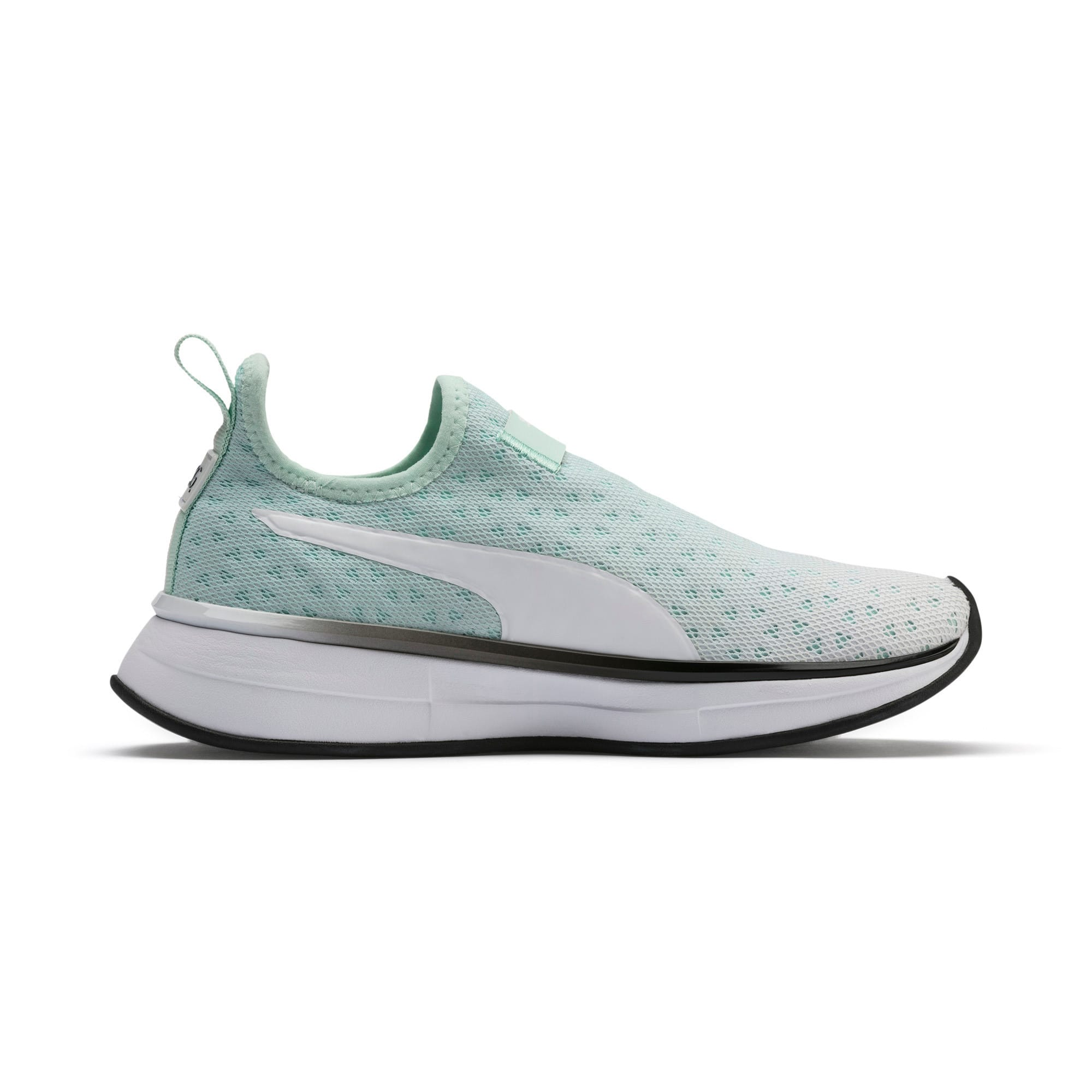Thumbnail 6 of SG Slip-on Bright Fade Women's Training Shoes, Fair Aqua-Puma Black, medium
