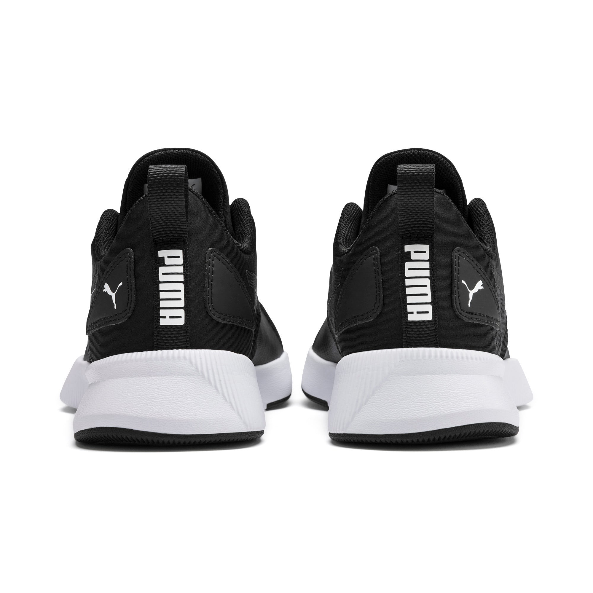 Thumbnail 3 of Flyer Runner Youth Trainers, Puma Black-Puma White, medium-IND