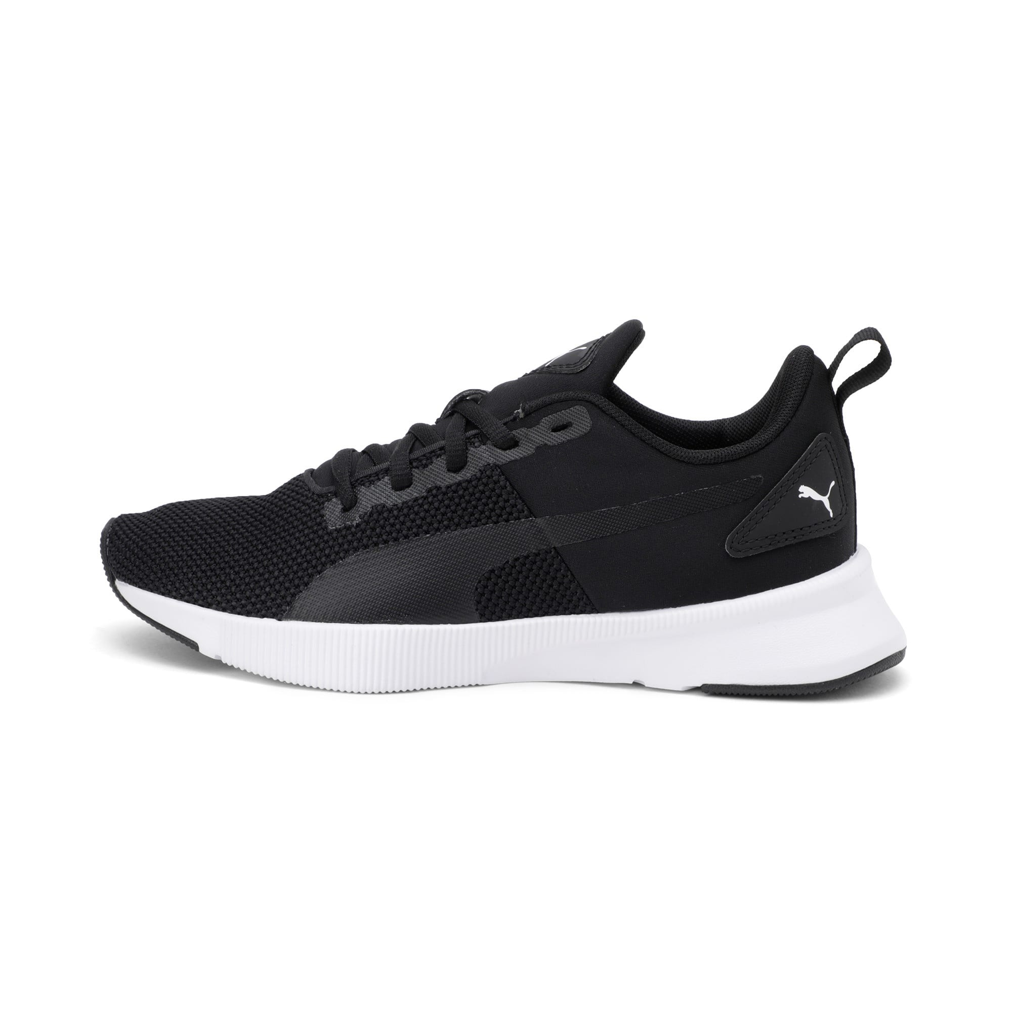 Thumbnail 1 of Flyer Runner Youth Trainers, Puma Black-Puma White, medium-IND