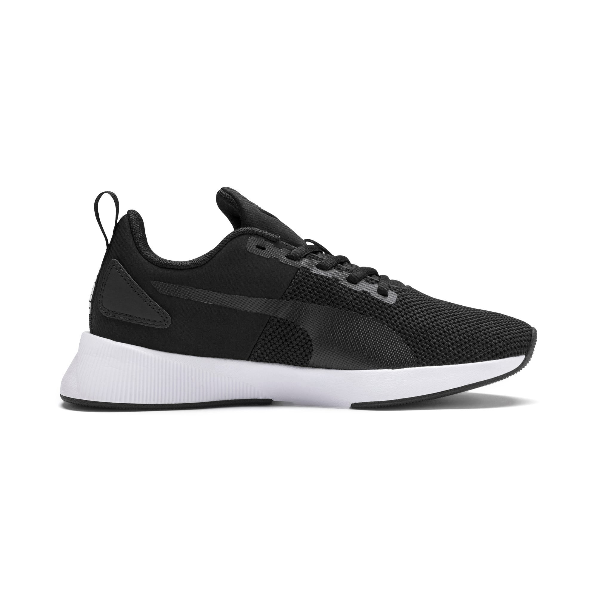 Thumbnail 5 of Flyer Runner Youth Trainers, Puma Black-Puma White, medium-IND