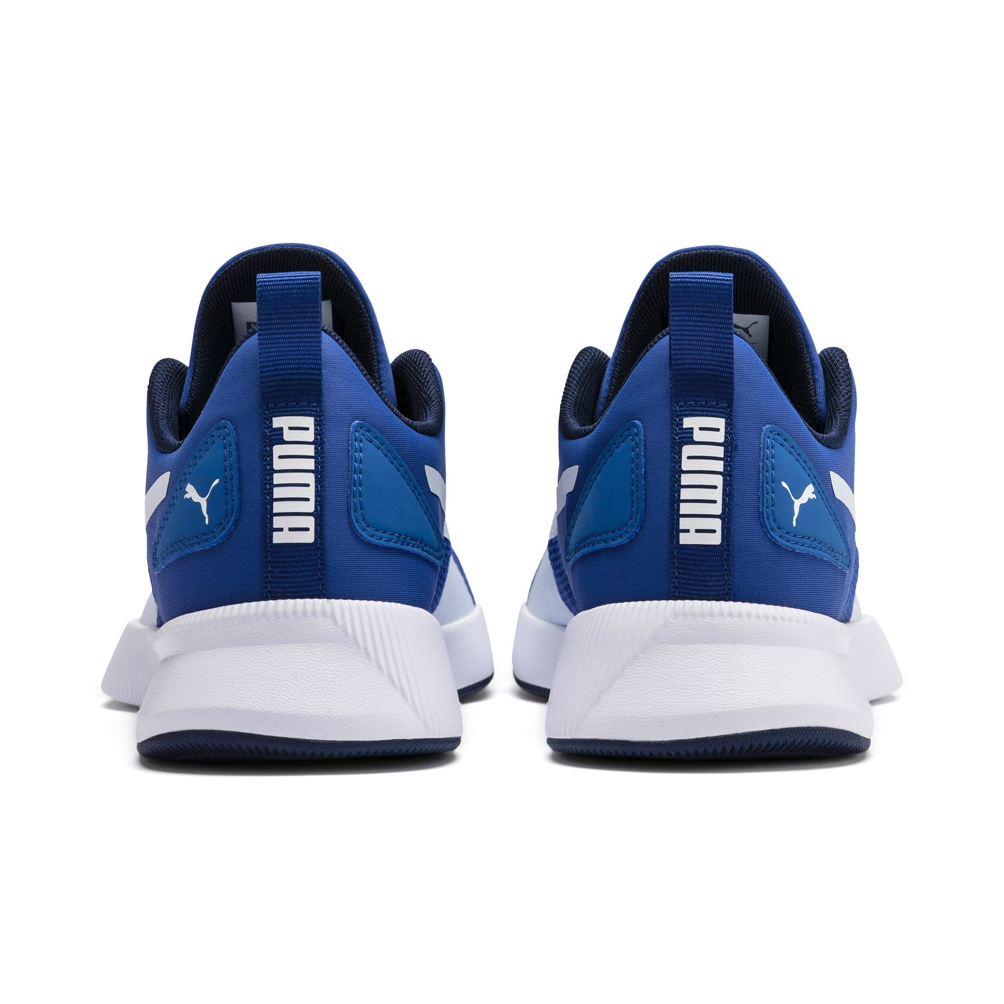 Thumbnail 3 of Flyer Runner Youth Trainers, Galaxy Blue-White-Peacoat, medium-IND