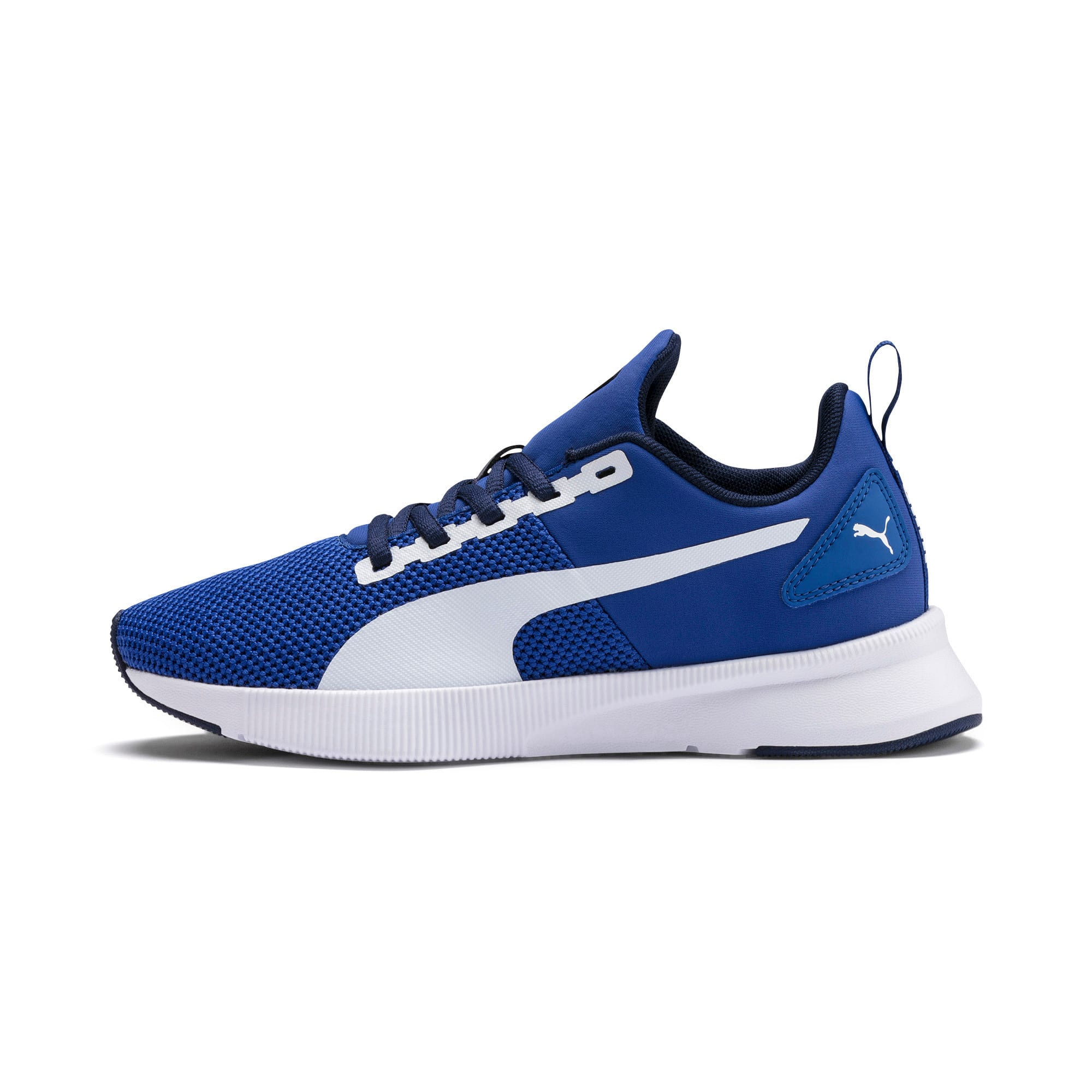 Thumbnail 1 of Flyer Runner Youth Trainers, Galaxy Blue-White-Peacoat, medium-IND
