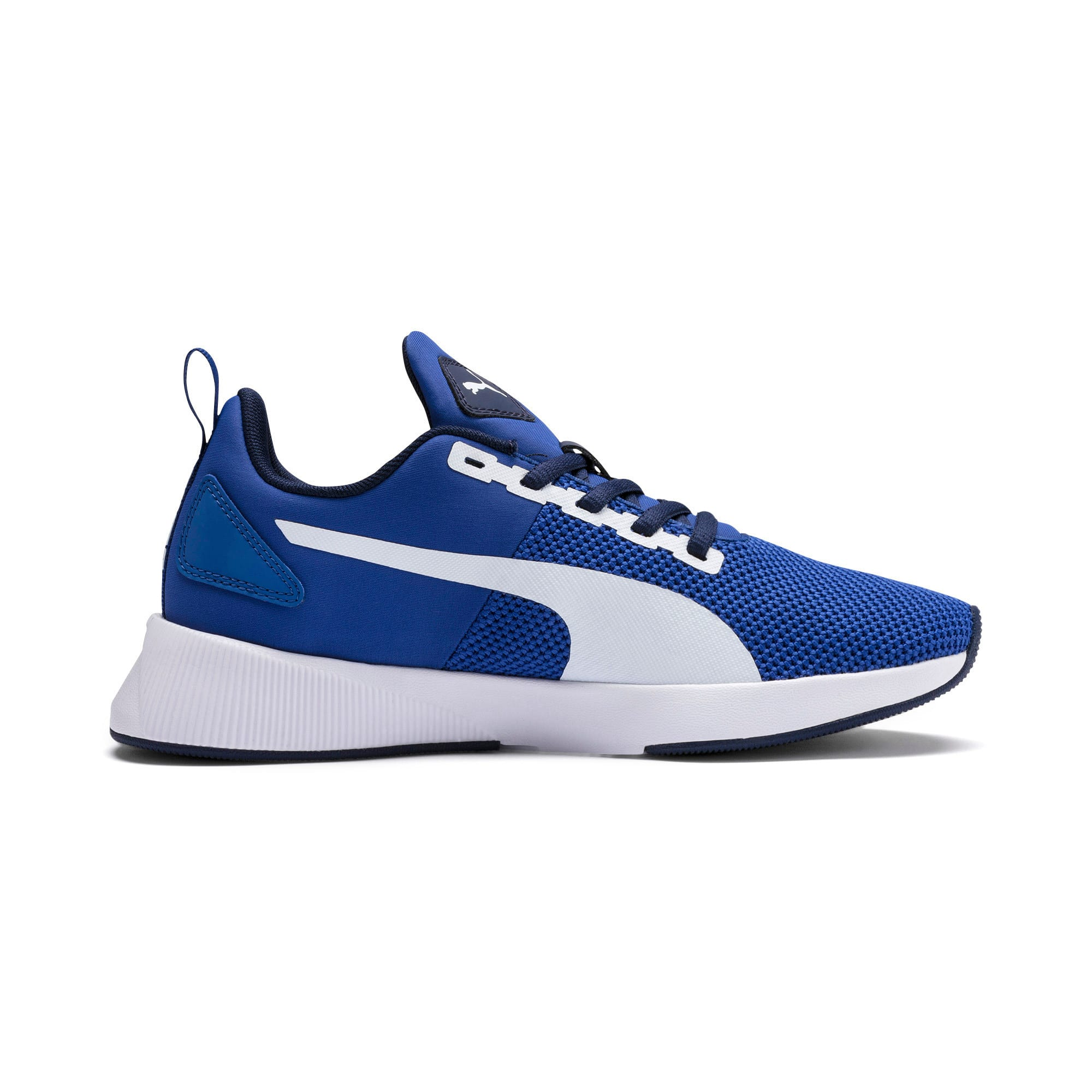 Thumbnail 5 of Flyer Runner Youth Trainers, Galaxy Blue-White-Peacoat, medium-IND