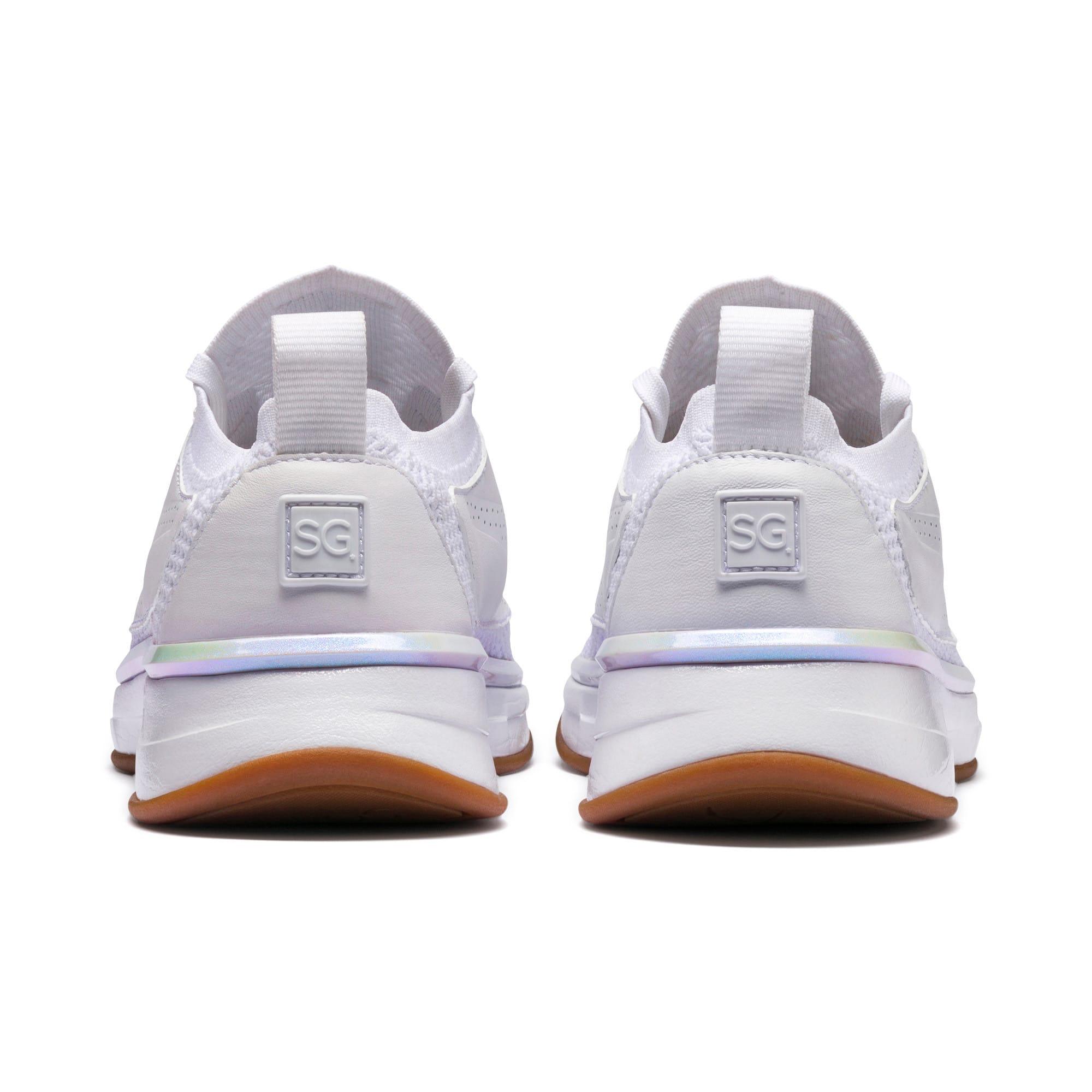 Thumbnail 2 of PUMA x SELENA GOMEZ Runner Women's Training Shoes, Puma White, medium-IND