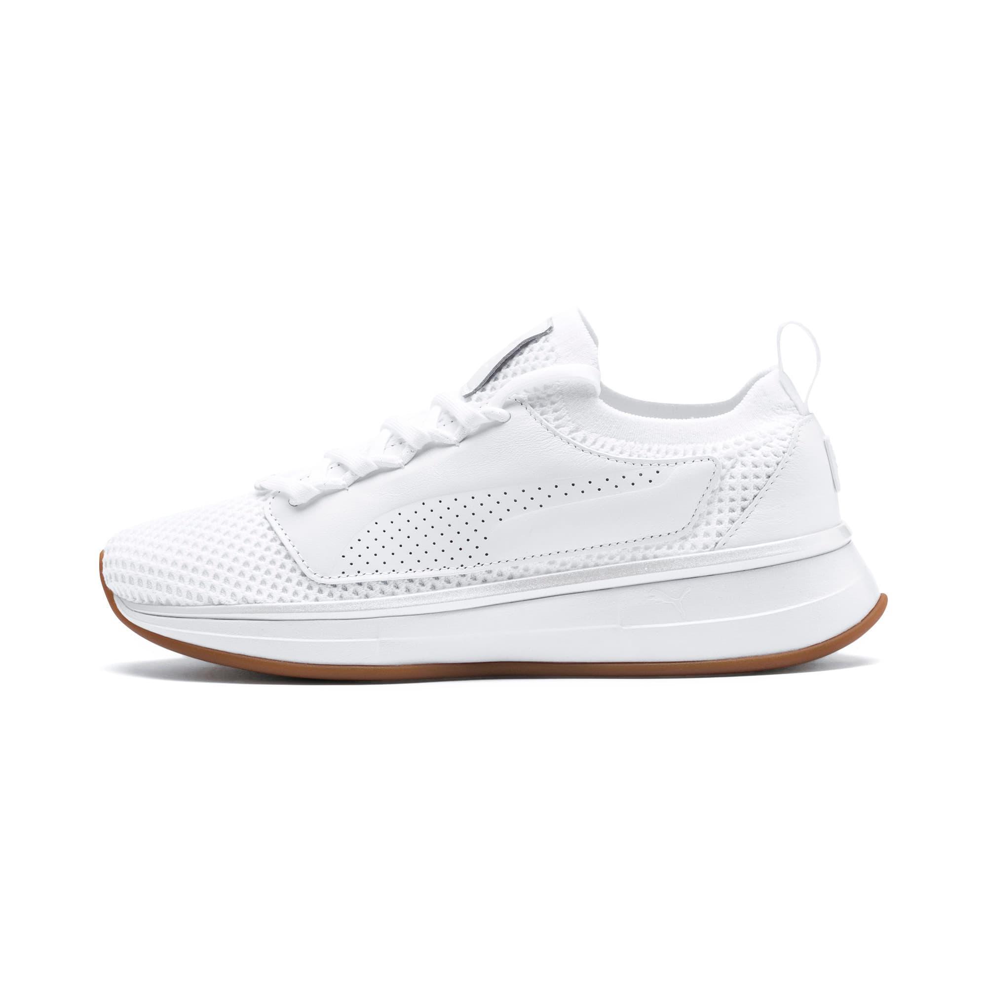 Thumbnail 1 of PUMA x SELENA GOMEZ Runner Women's Training Shoes, Puma White, medium-IND