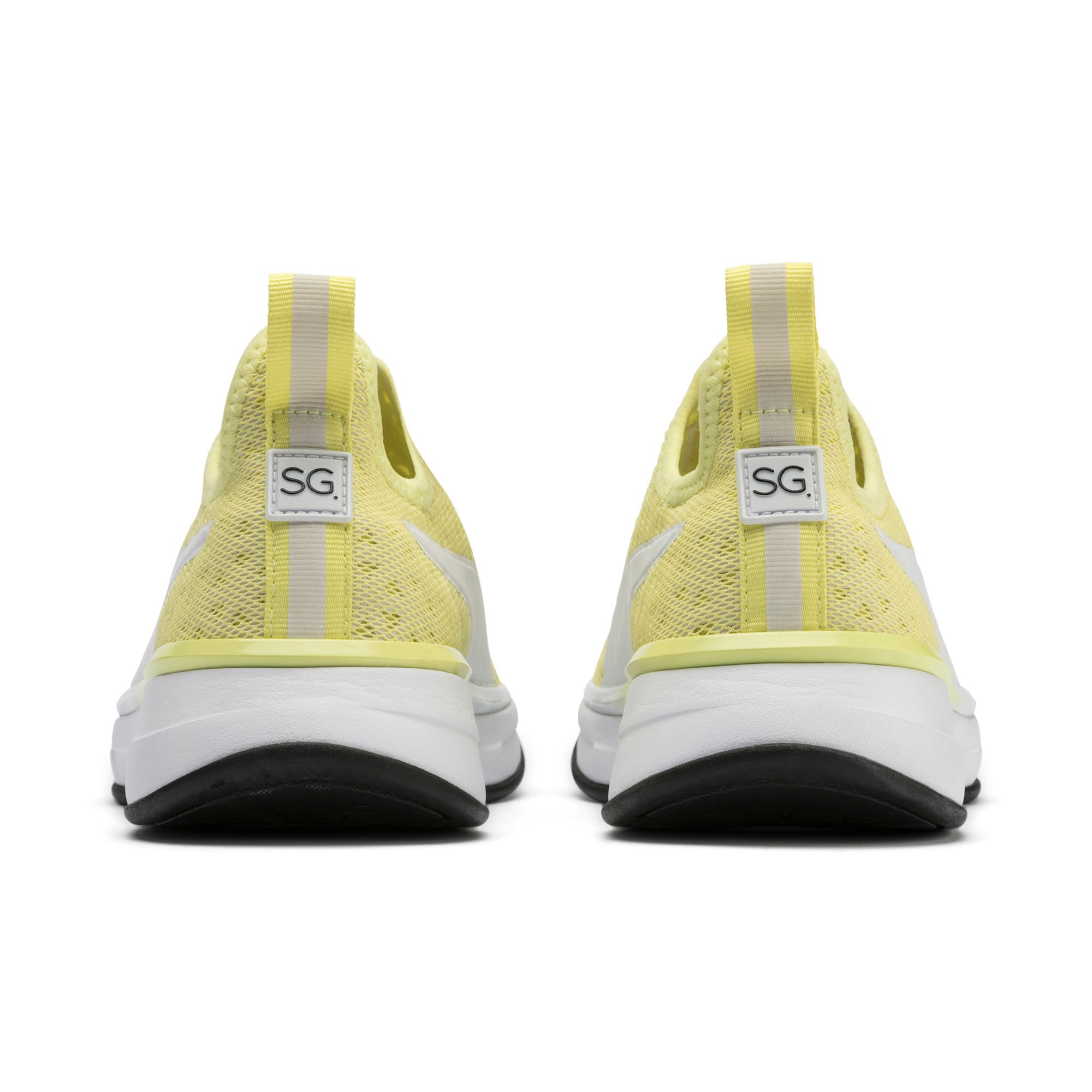 Thumbnail 4 of SG Slip-on Bright Women's Training Shoes, YELLOW-Puma White-Puma Black, medium