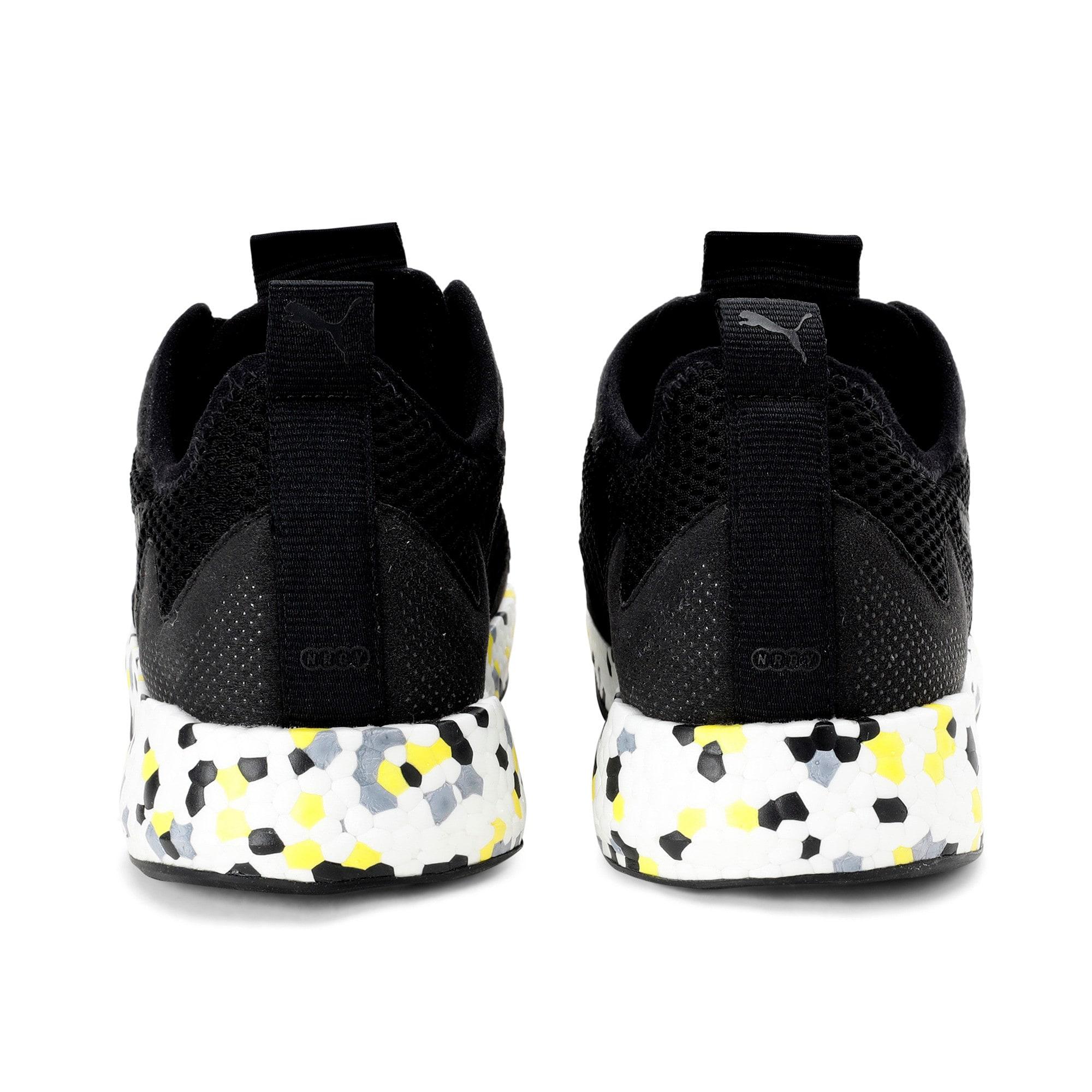 Thumbnail 5 of NRGY Neko Skim Men's Running Shoes, Puma Black-Yellow Alert, medium-IND