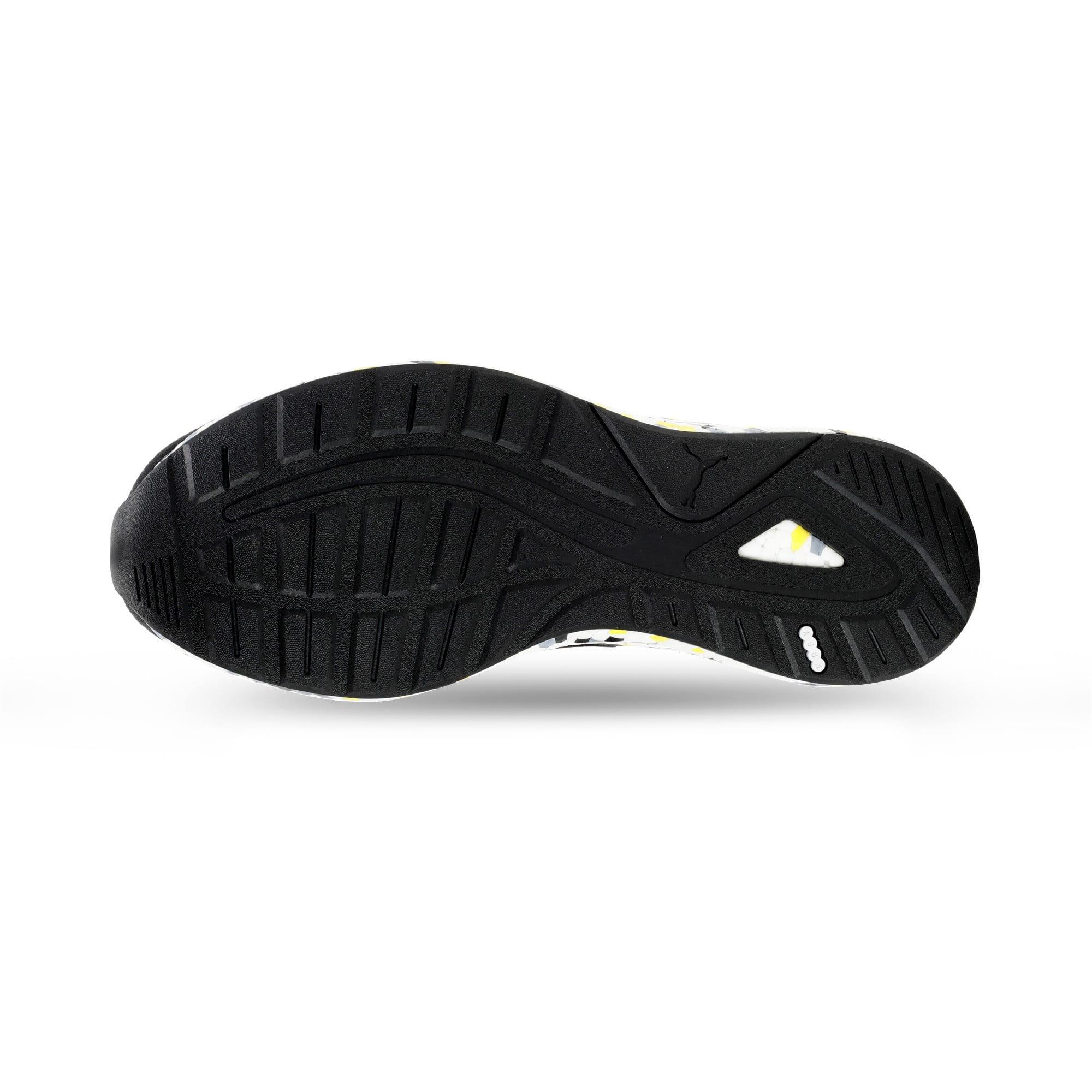 Thumbnail 6 of NRGY Neko Skim Men's Running Shoes, Puma Black-Yellow Alert, medium-IND