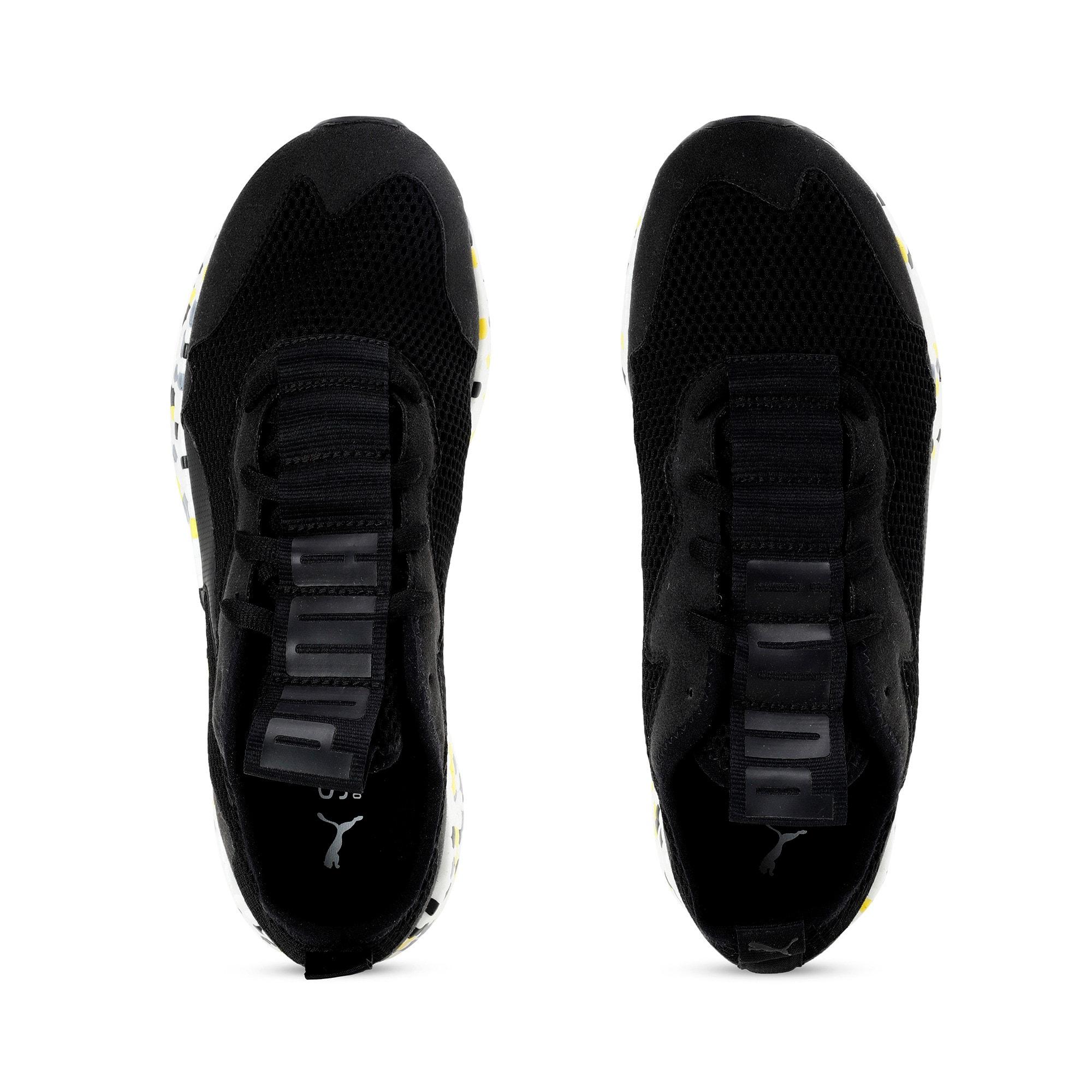 Thumbnail 8 of NRGY Neko Skim Men's Running Shoes, Puma Black-Yellow Alert, medium-IND