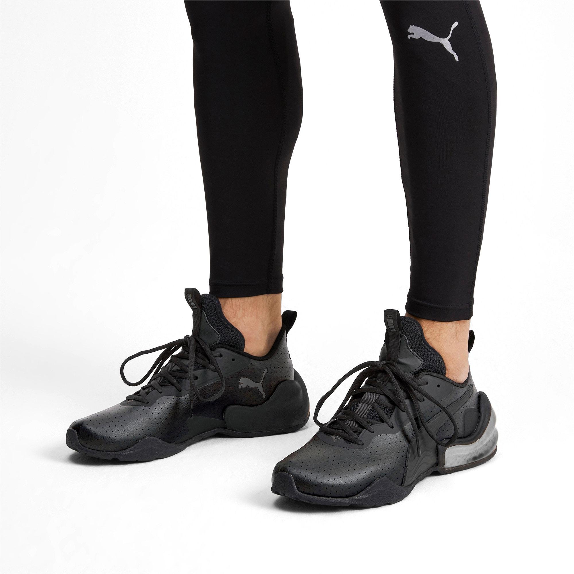 Thumbnail 3 of LQDCELL Challenge Perf Men's Training Shoes, Puma Black-CASTLEROCK, medium
