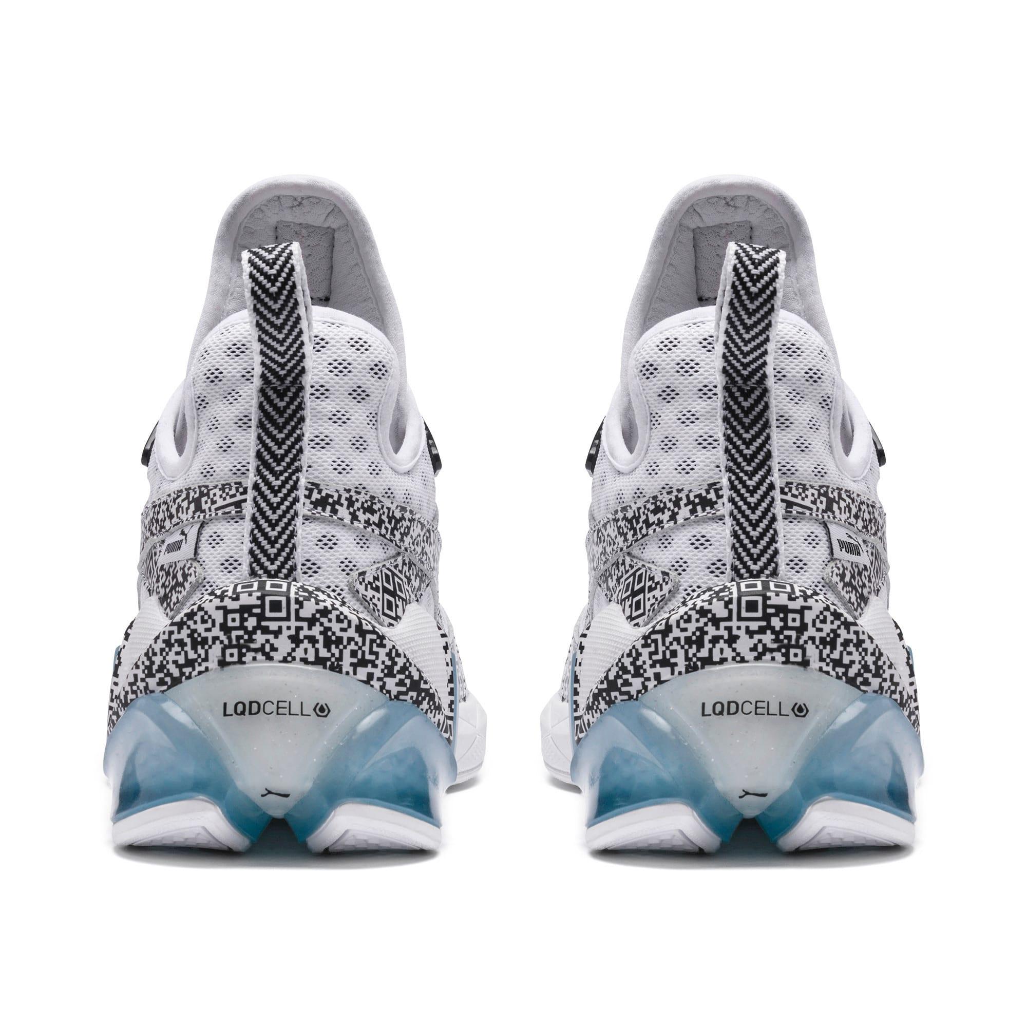 Thumbnail 3 of LQDCELL Origin AR Sneaker, Puma White-Puma Black, medium
