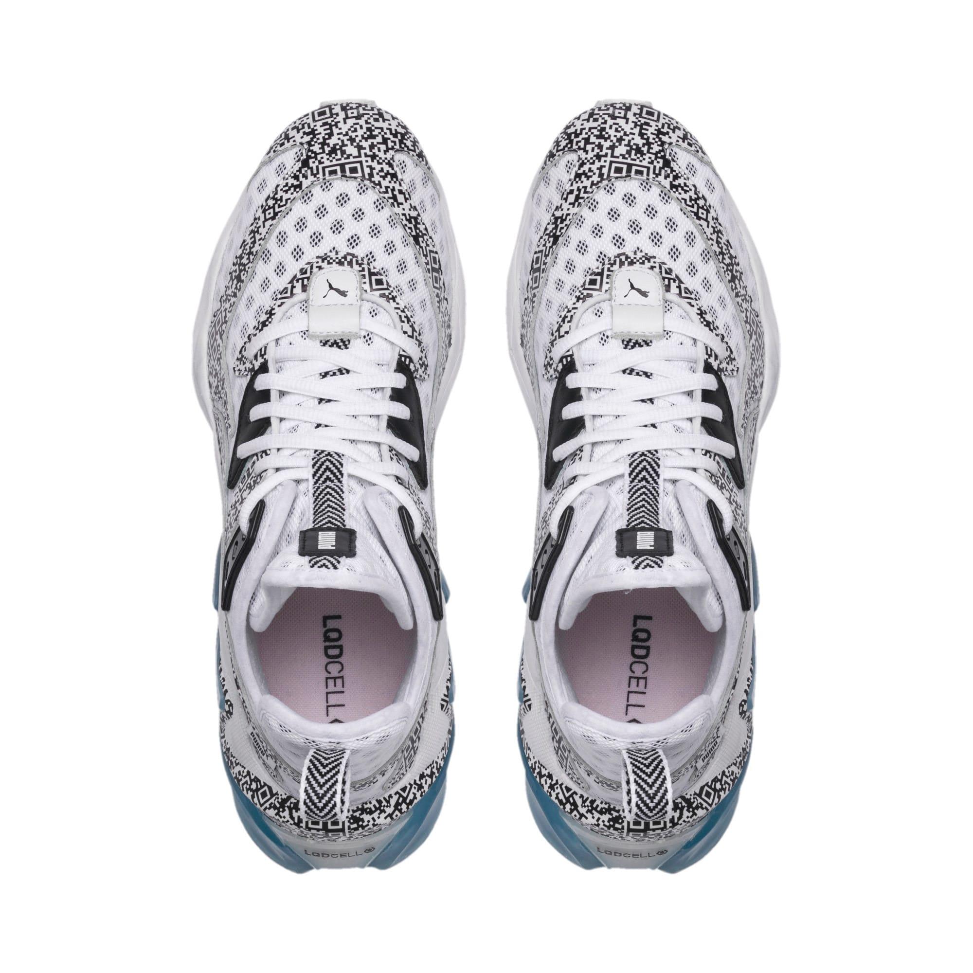Thumbnail 6 of LQDCELL Origin AR Sneaker, Puma White-Puma Black, medium