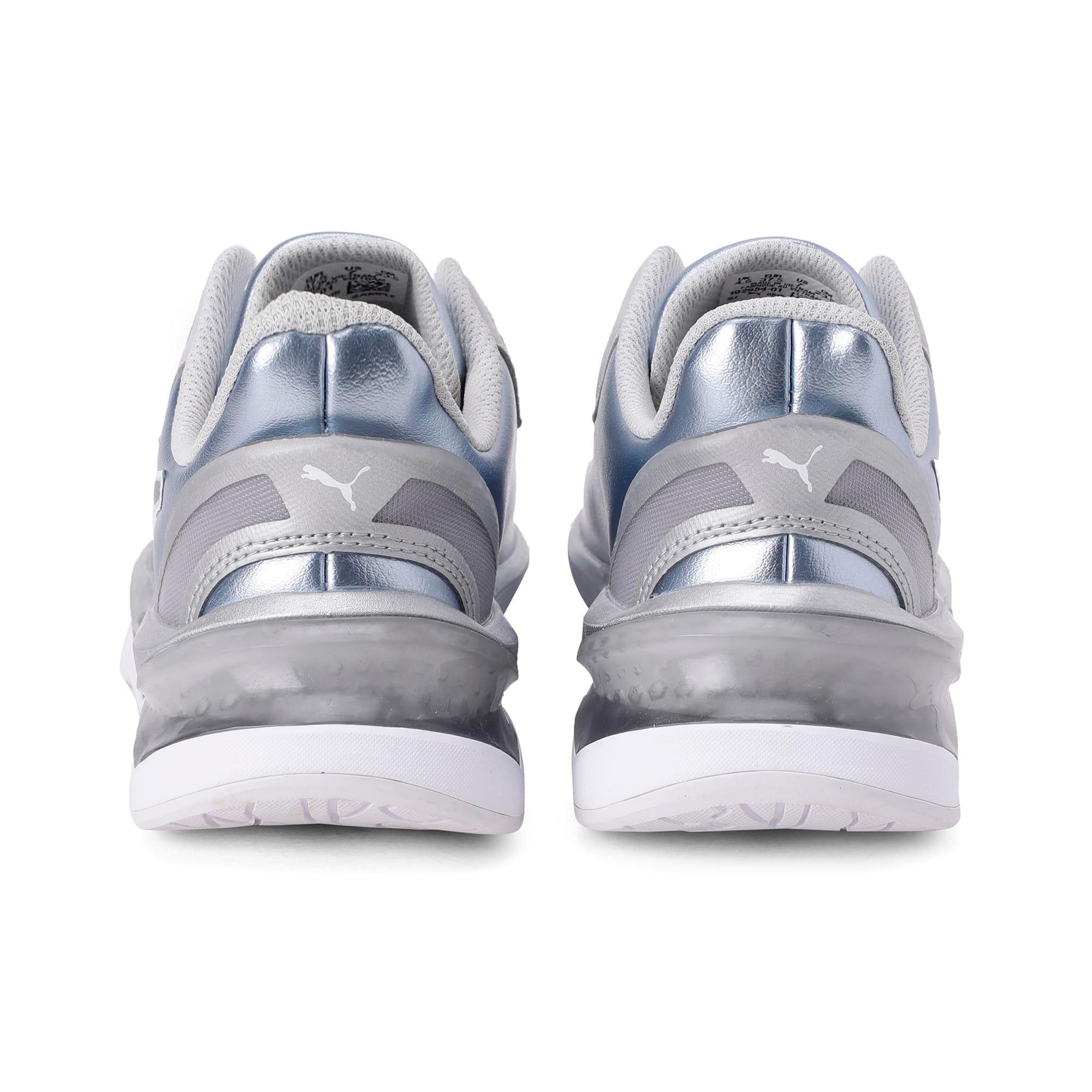 Thumbnail 3 of LQDCELL Shatter XT Metal Women's Training Shoes, Puma Silver-Puma White, medium