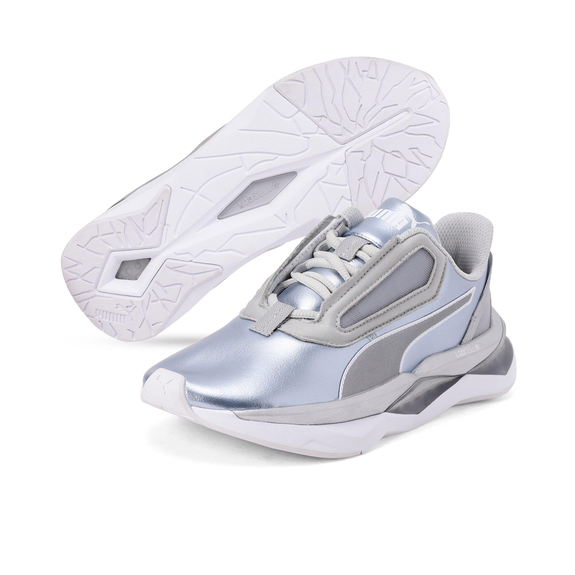 Thumbnail 2 of LQDCELL Shatter XT Metal Women's Training Shoes, Puma Silver-Puma White, medium
