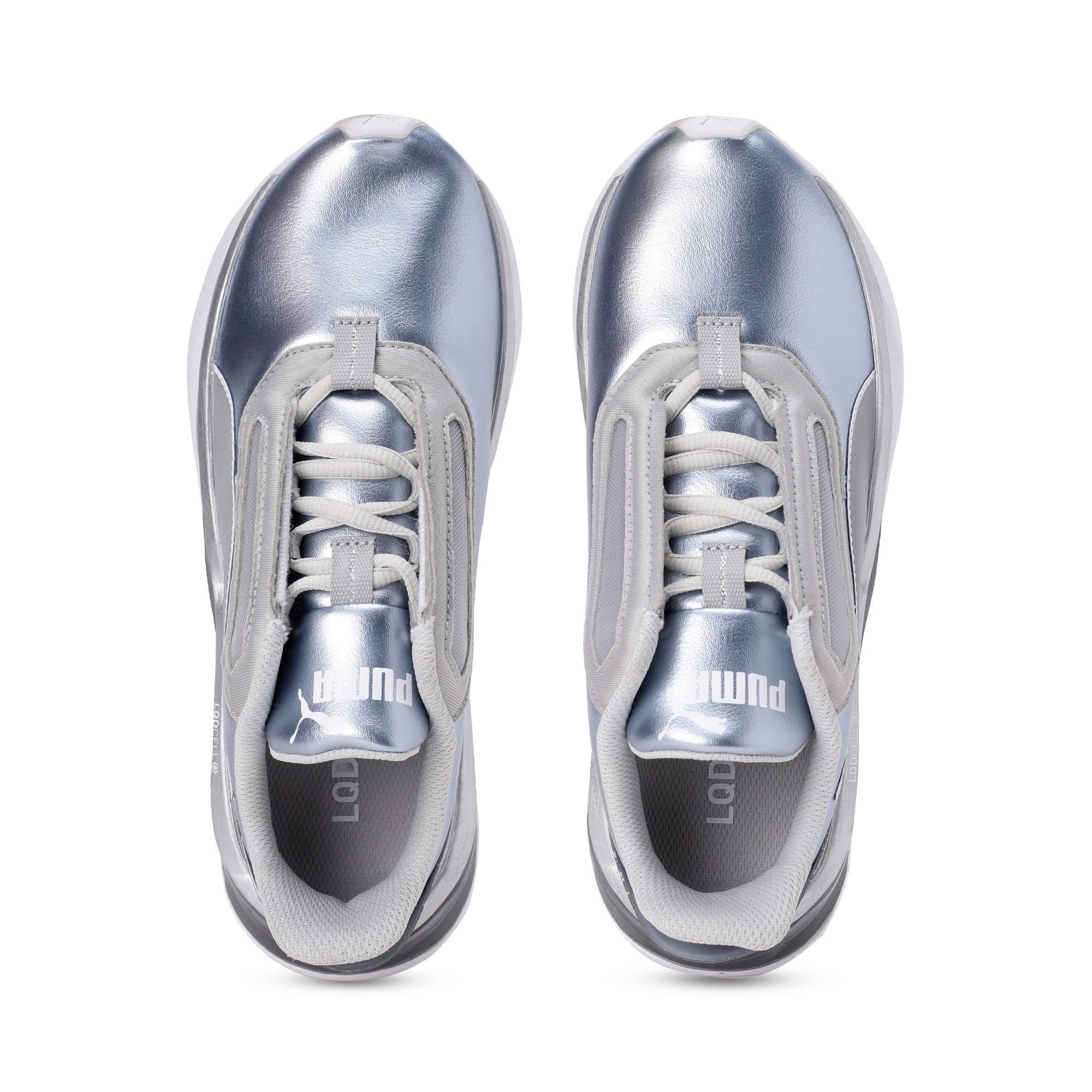 Thumbnail 6 of LQDCELL Shatter XT Metal Women's Training Shoes, Puma Silver-Puma White, medium