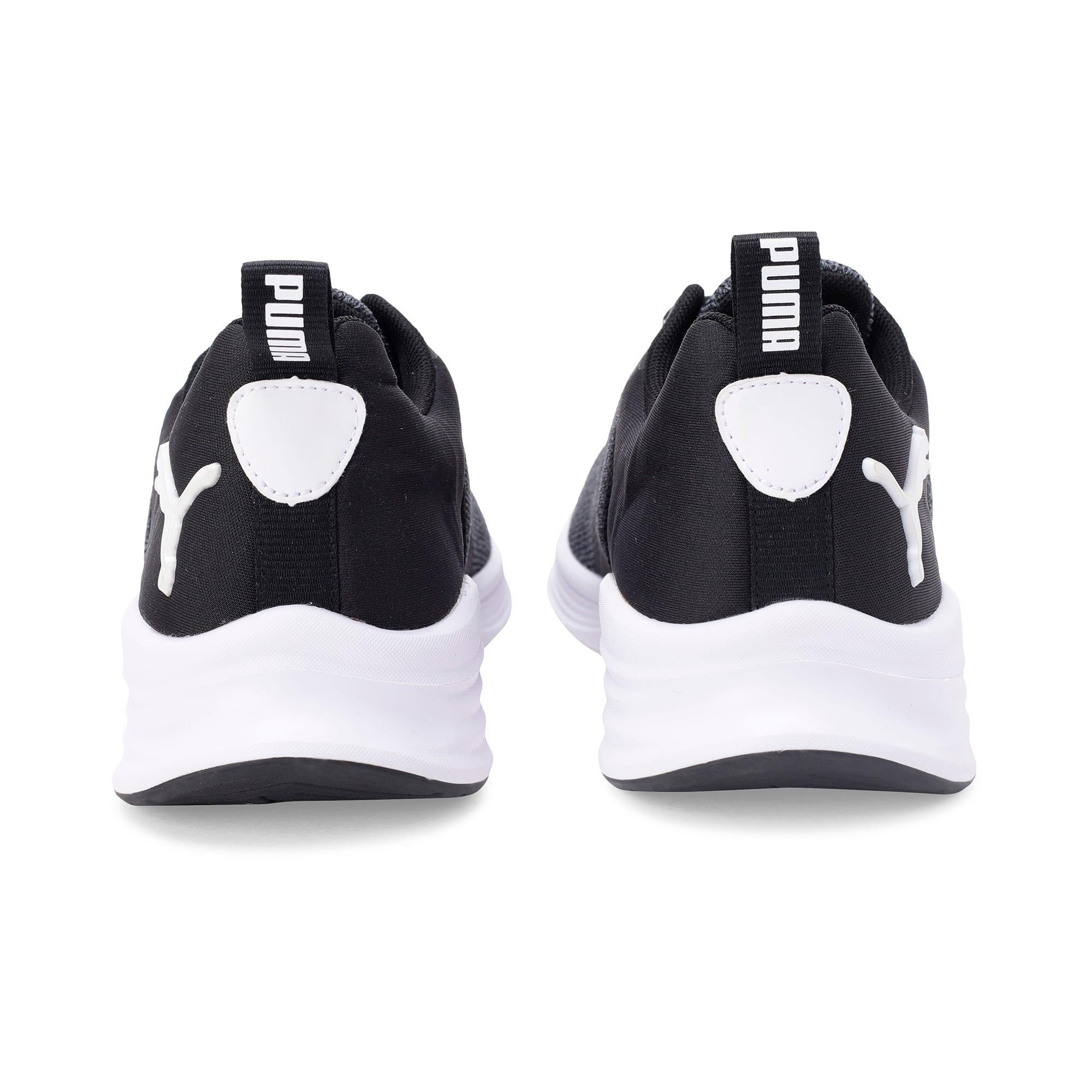 Thumbnail 3 of HYBRID Fuego evoKNIT Men's Running Shoes, CASTLEROCK-Puma Blk-Pma Wht, medium-IND