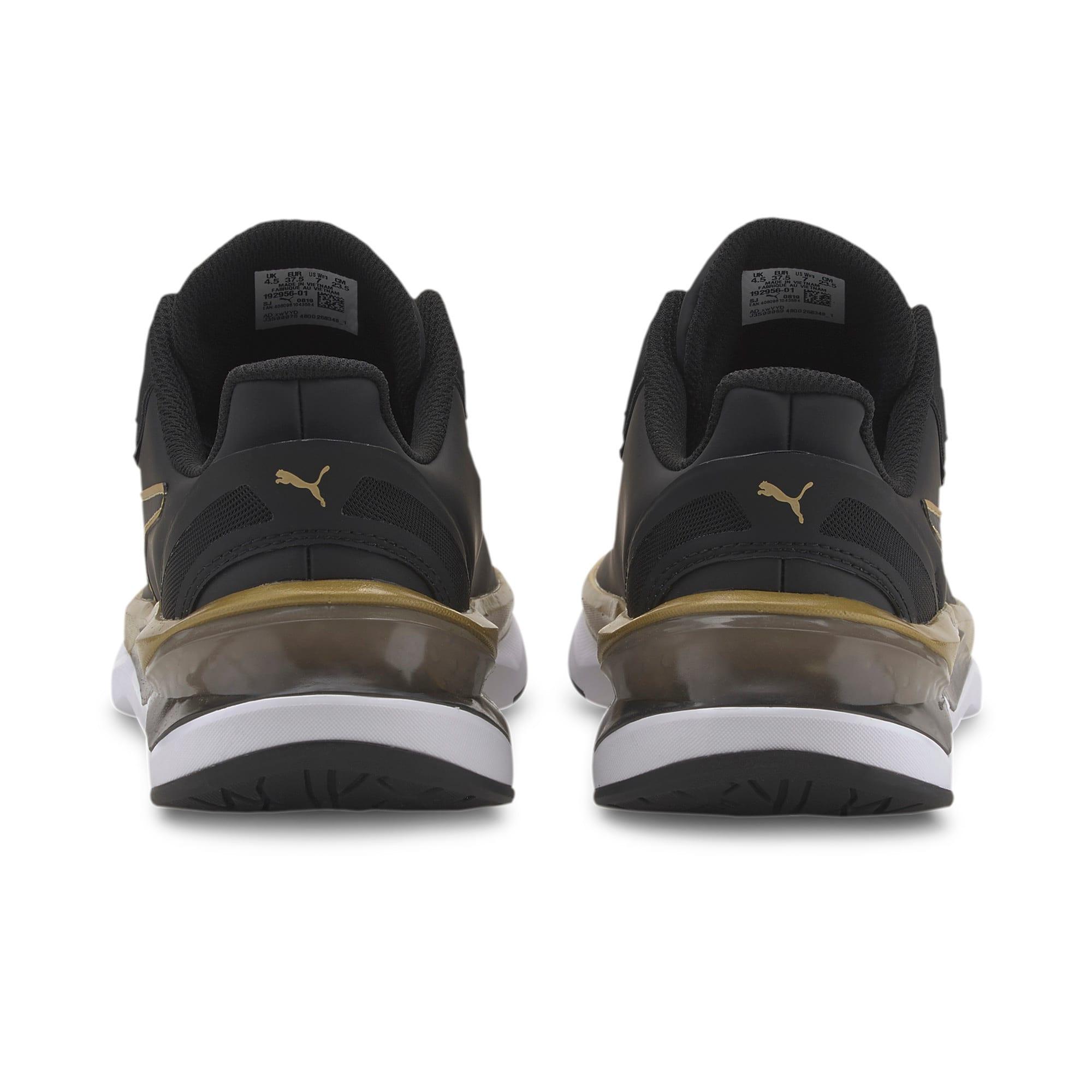 Thumbnail 3 of LQDCELL Shatter XT Matte Women's Training Shoes, Puma Black-Puma Team Gold, medium