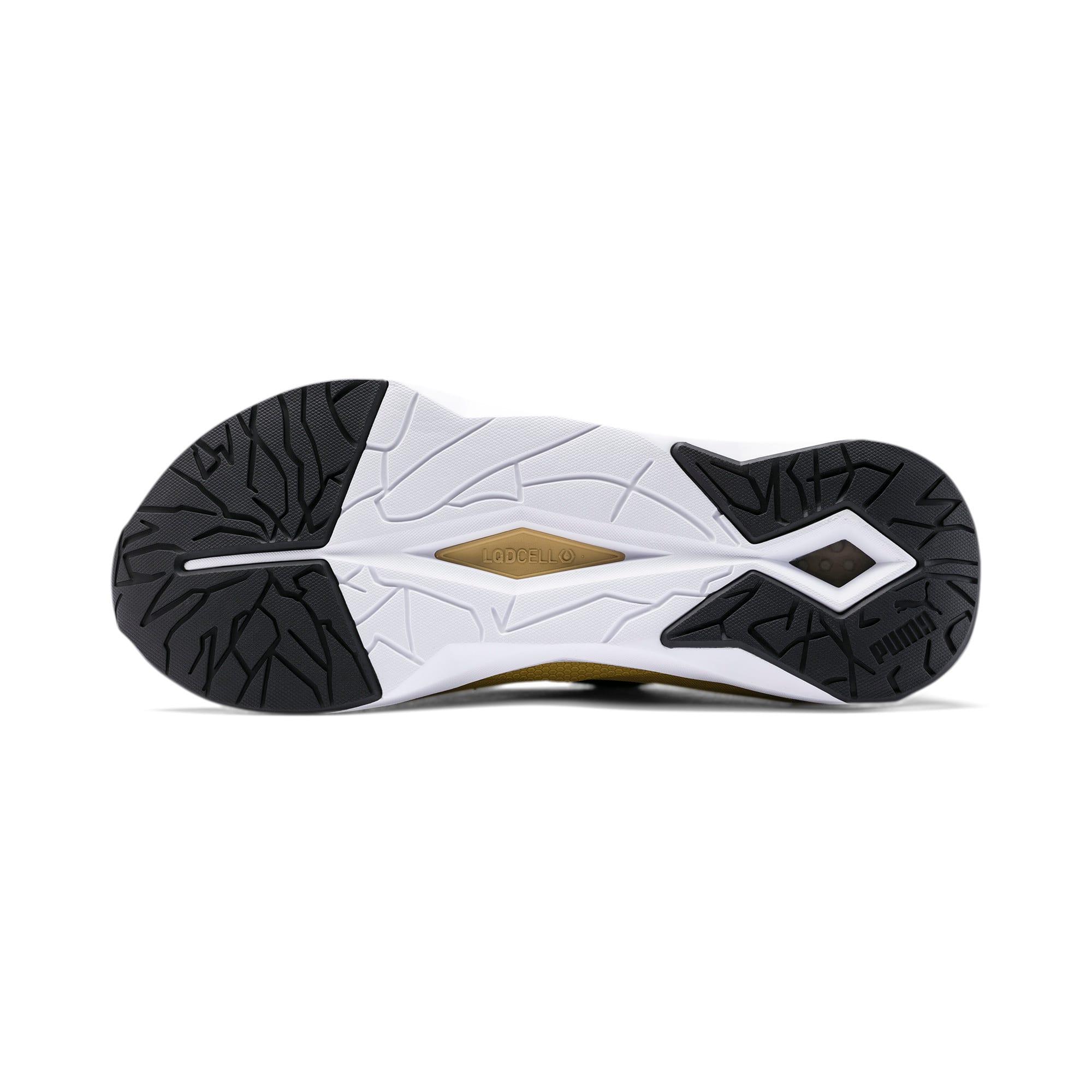 Thumbnail 4 of Shatter XT Matte LQDCELL Women's Running Shoes, Puma Black-Puma Team Gold, medium