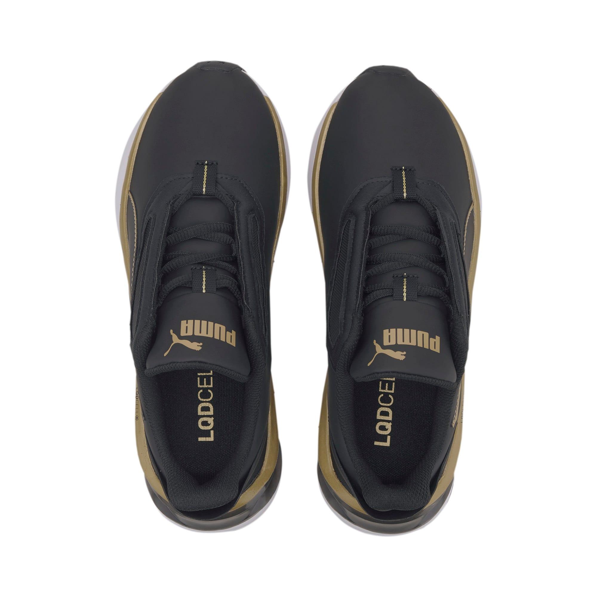 Thumbnail 6 of LQDCELL Shatter XT Matte Women's Training Shoes, Puma Black-Puma Team Gold, medium