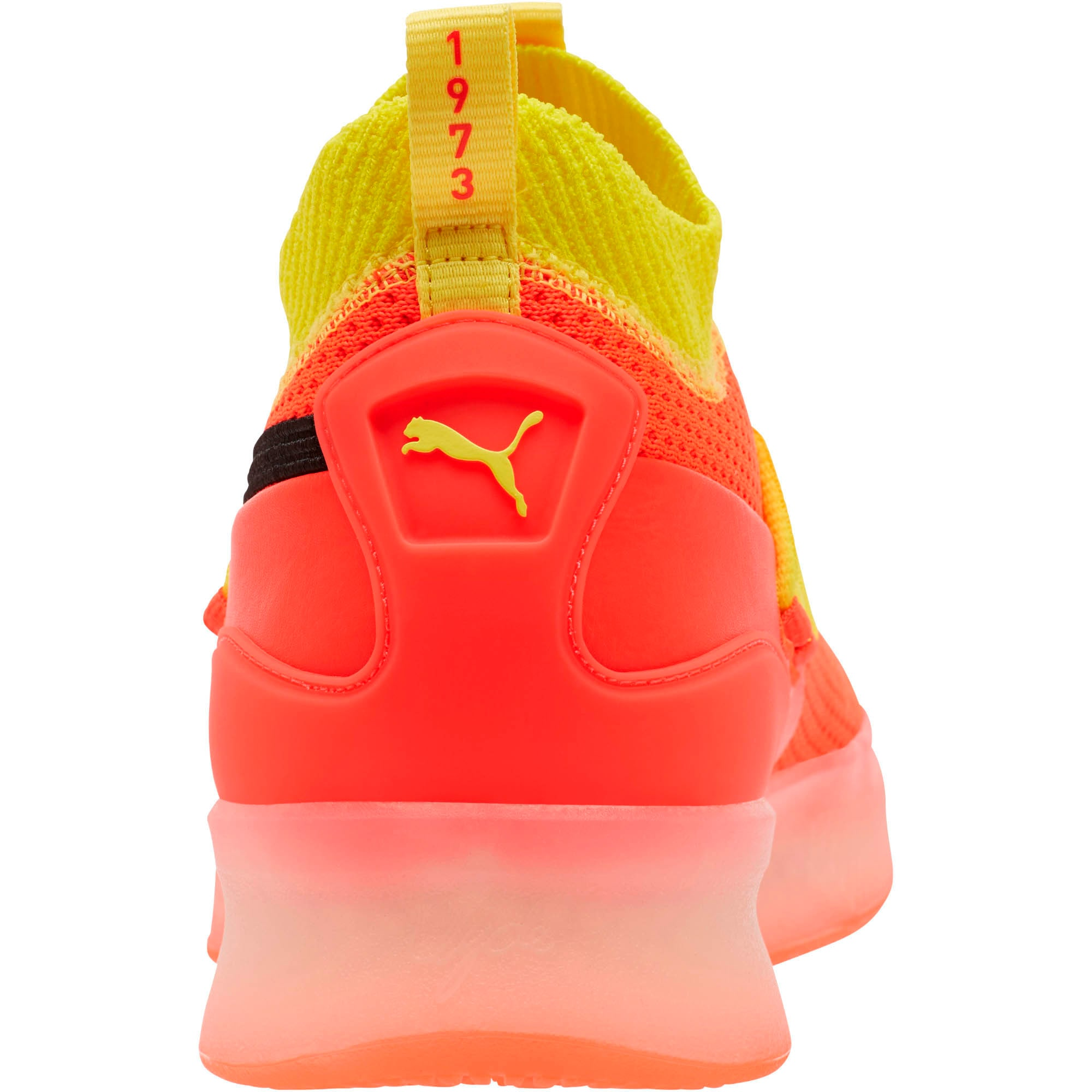 Thumbnail 3 of Clyde Court Basketball Shoes JR, Red Blast, medium