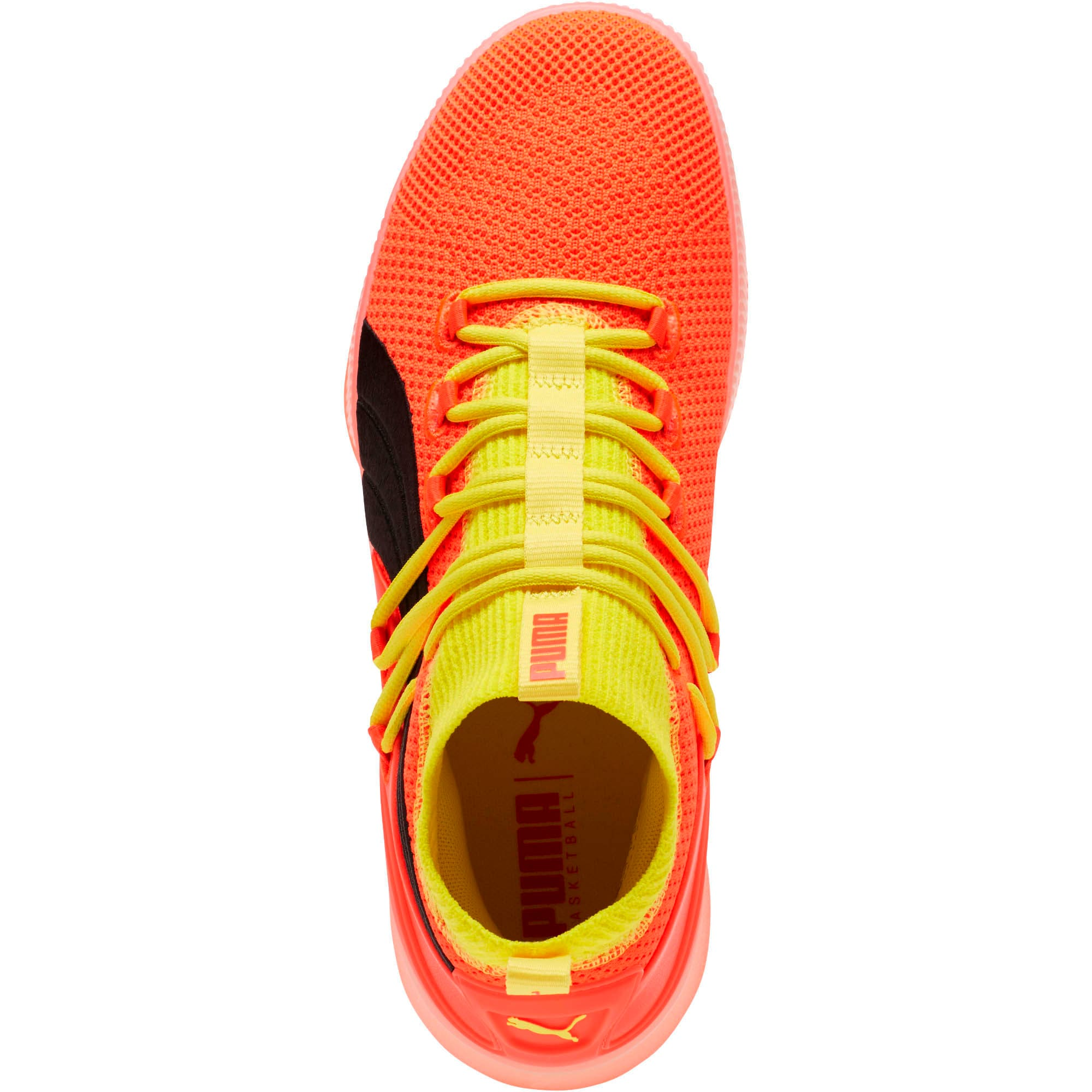 Thumbnail 5 of Clyde Court Basketball Shoes JR, Red Blast, medium