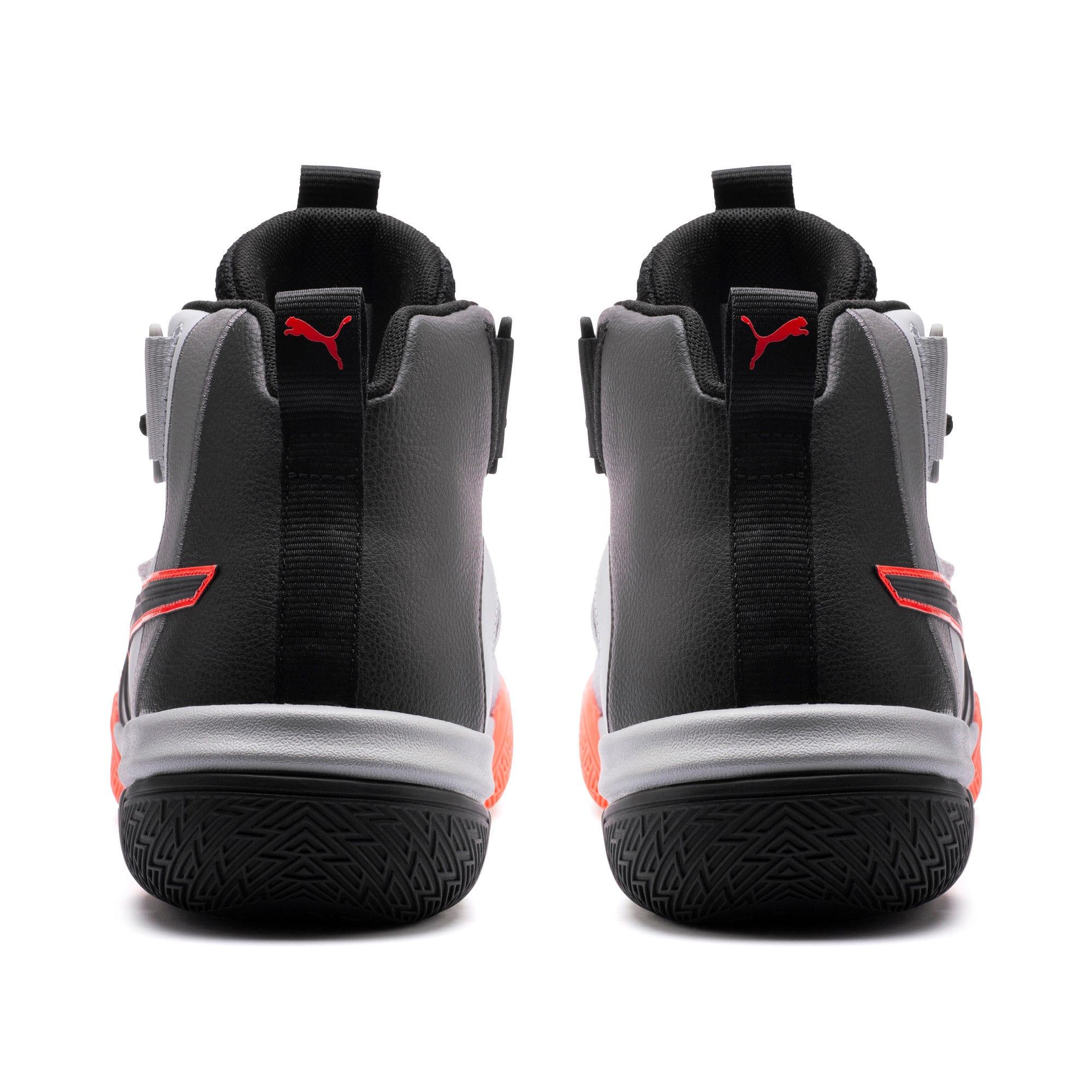 Thumbnail 3 of Chaussure de basket Legacy Disrupt pour homme, Puma Black-Red Blast, medium